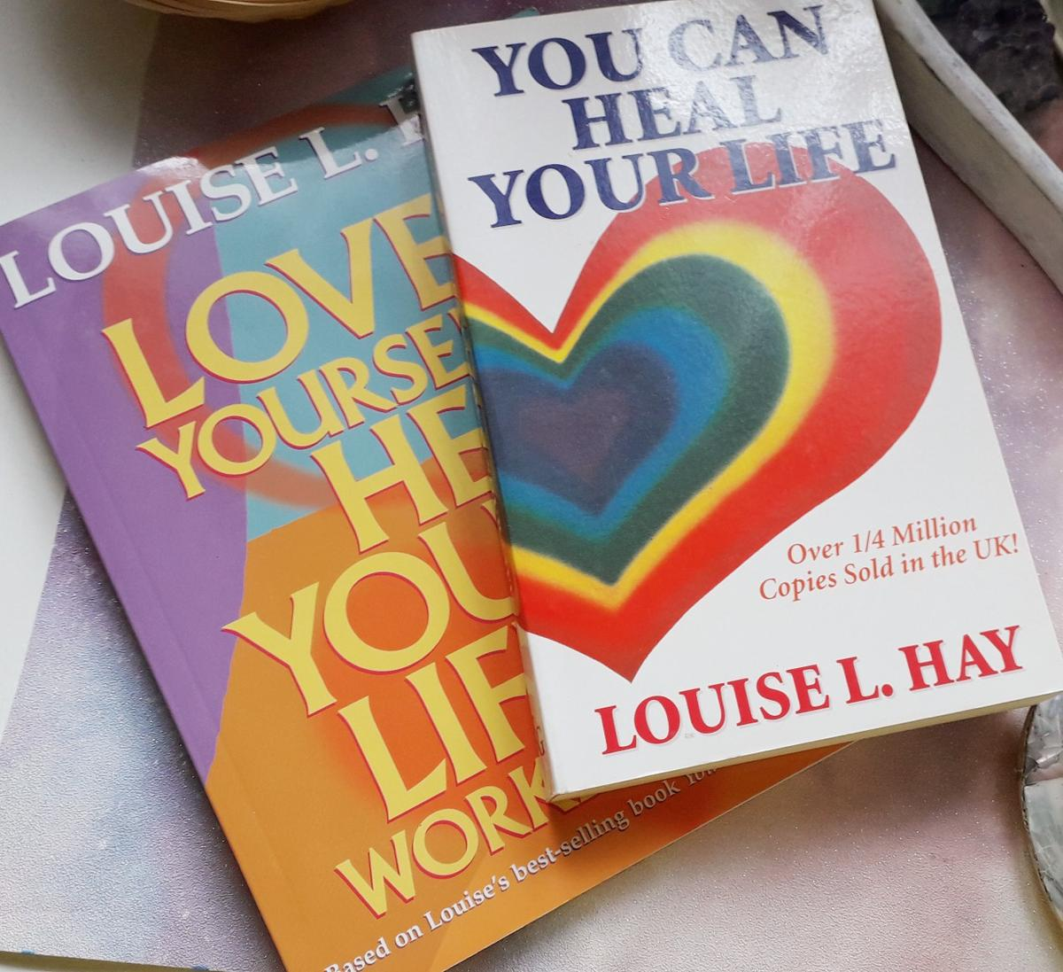 How to love yourself book louise hay