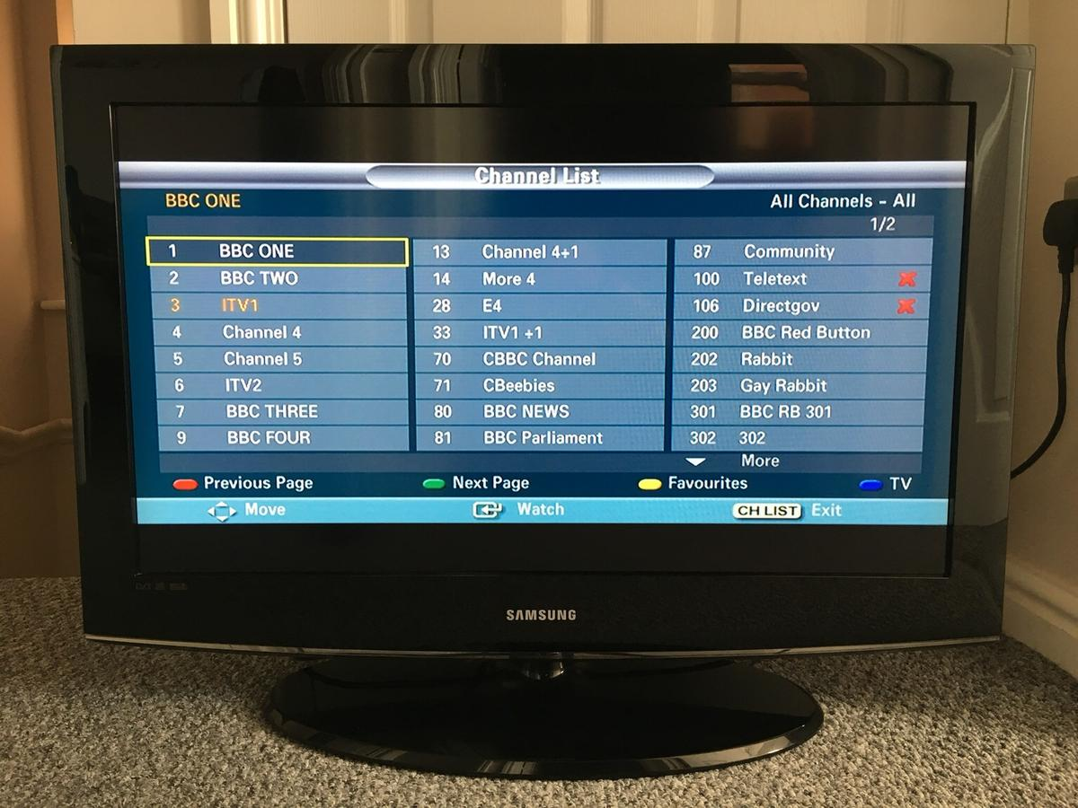 """Samsung 32"""" TV in St Helens for £75 00 for sale - Shpock"""