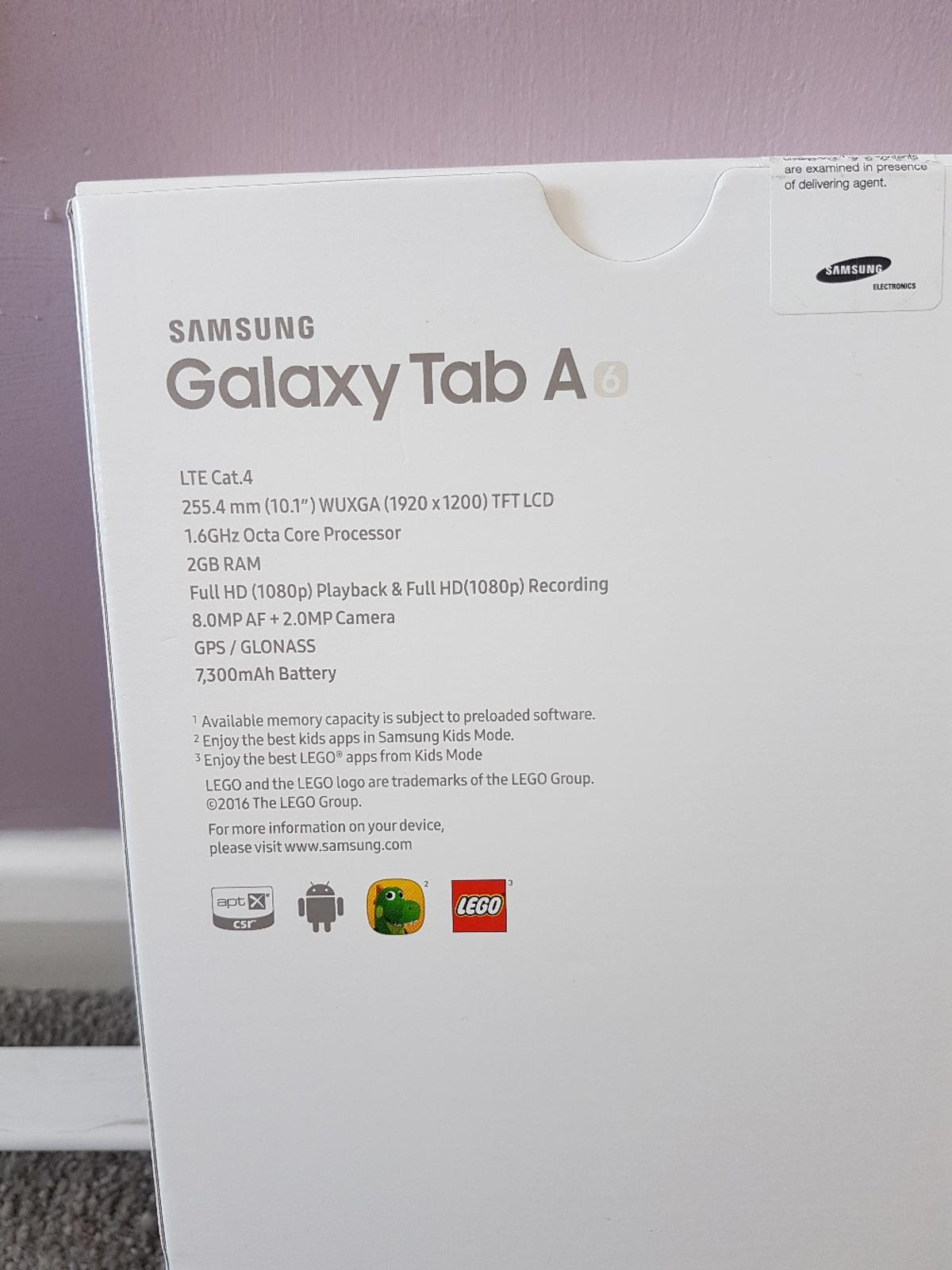 New Samsung Galaxy Tab A6 10 1 32gb 4G