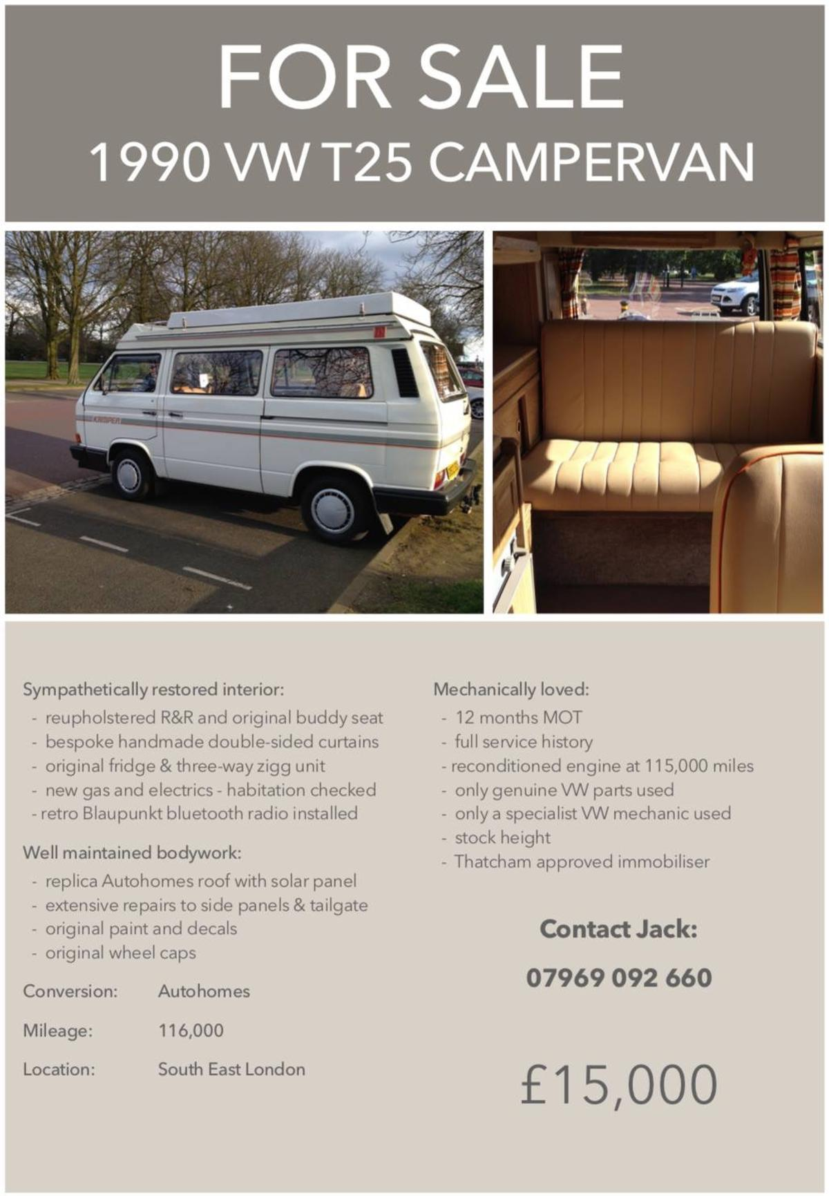 VW T25 in BR7 London for £13,000 00 for sale - Shpock