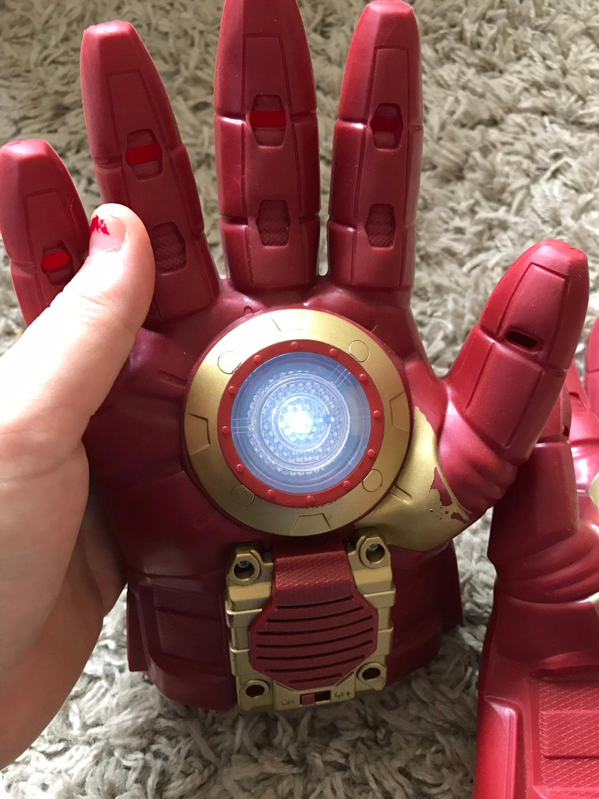 Iron man hands in B98 Redditch for £5 00 for sale - Shpock