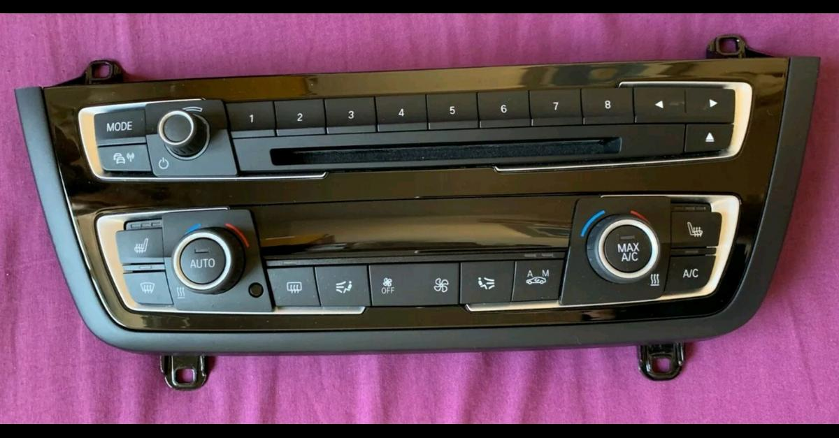 BMW f20/21 f30 climate control and radio