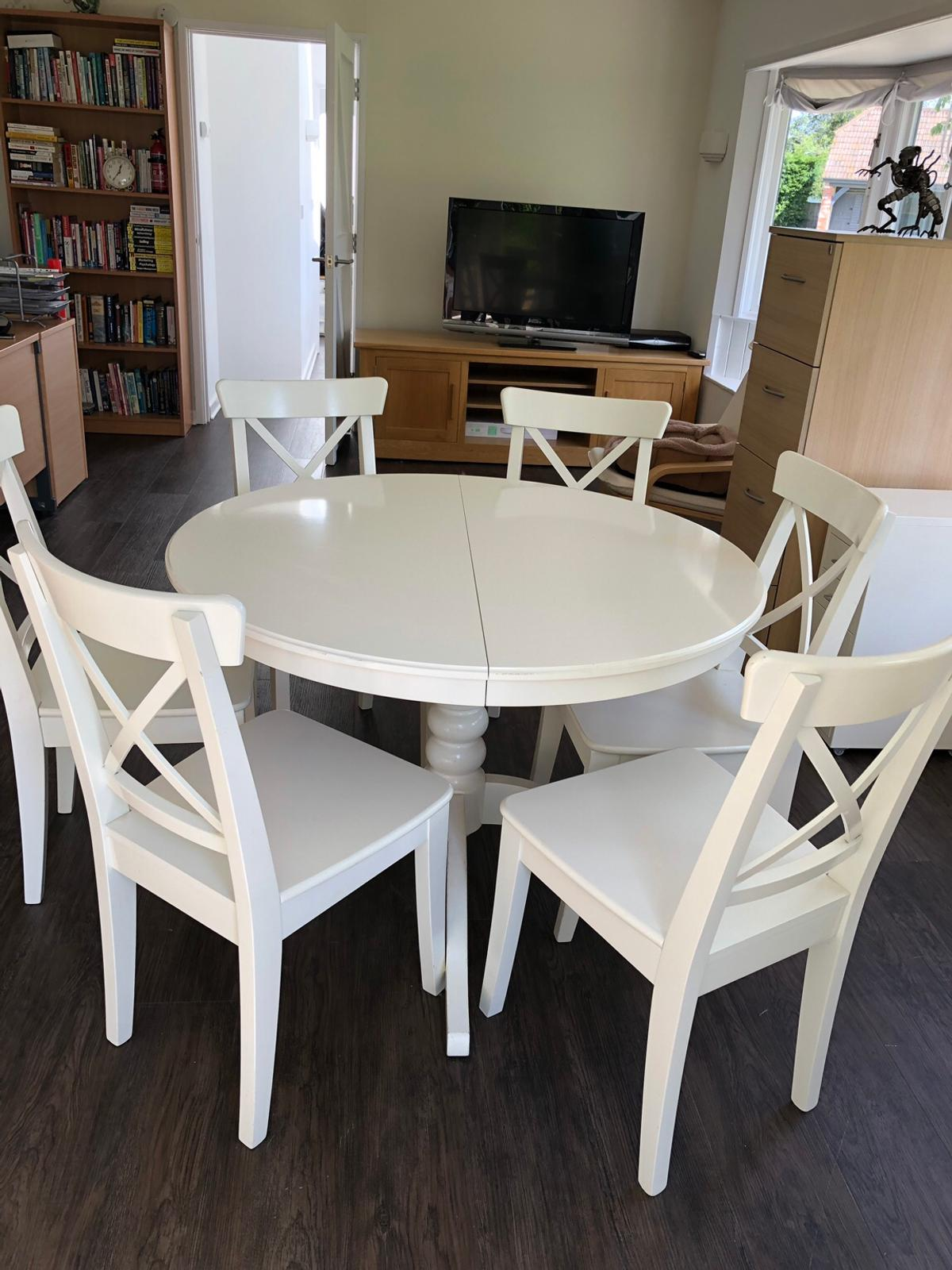 Dining Table And Six Chairs In South
