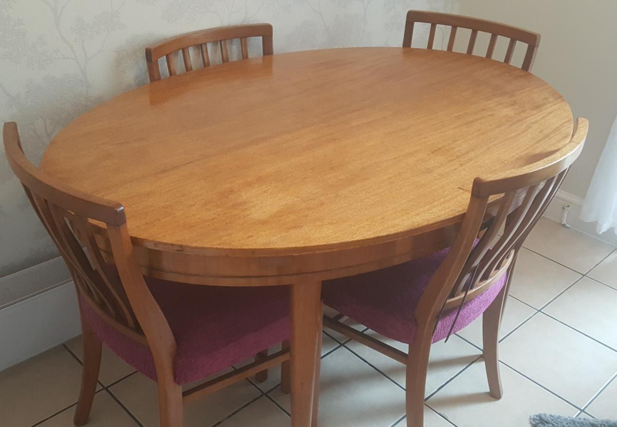 1950s Expandable Dining Table Chairs In Nn3 Northampton For 60 00 For Sale Shpock