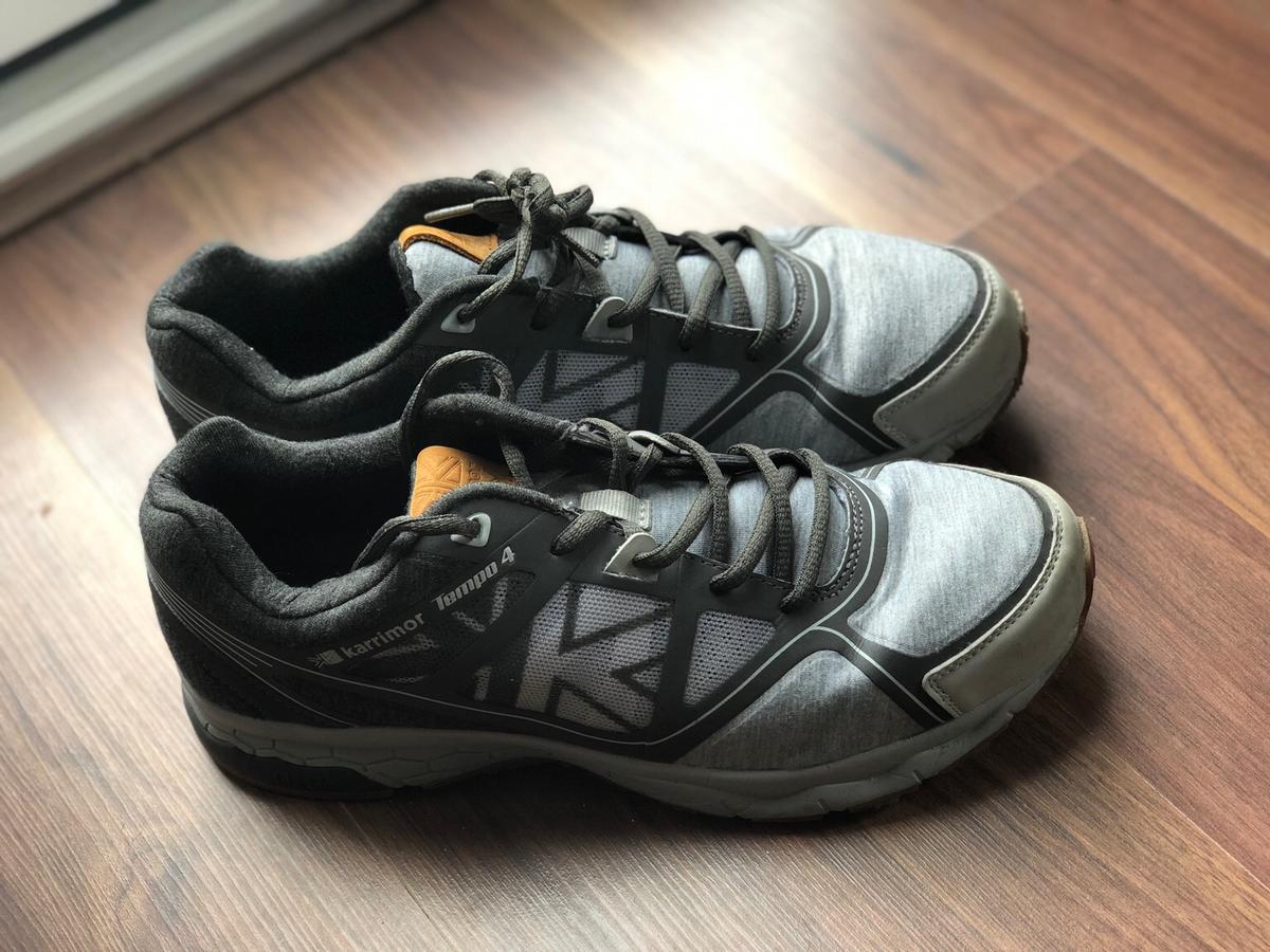 best website 2d4b1 376dd Men's Karrimor Running Shoes Size 8