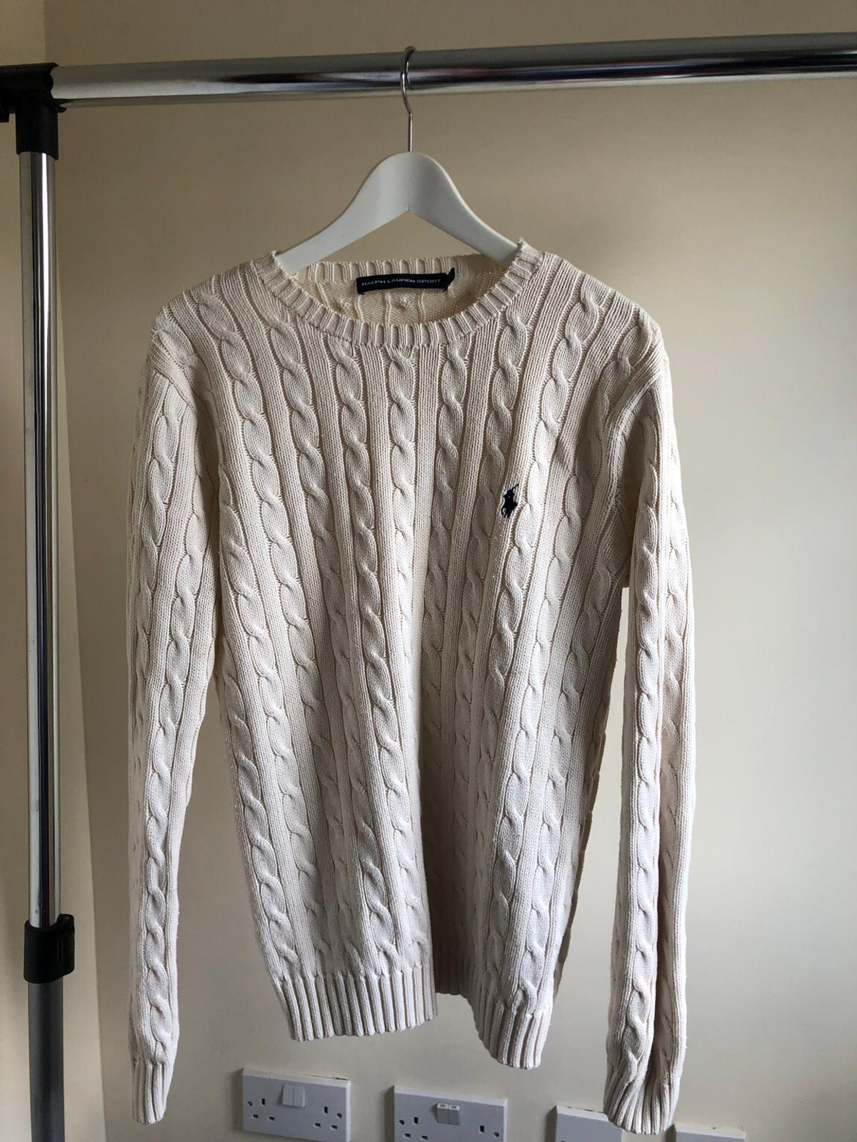 2d4557879b8980 Ralph Lauren Cable Knit Jumper Size 12 in BS32 Hortham for £20.00 ...