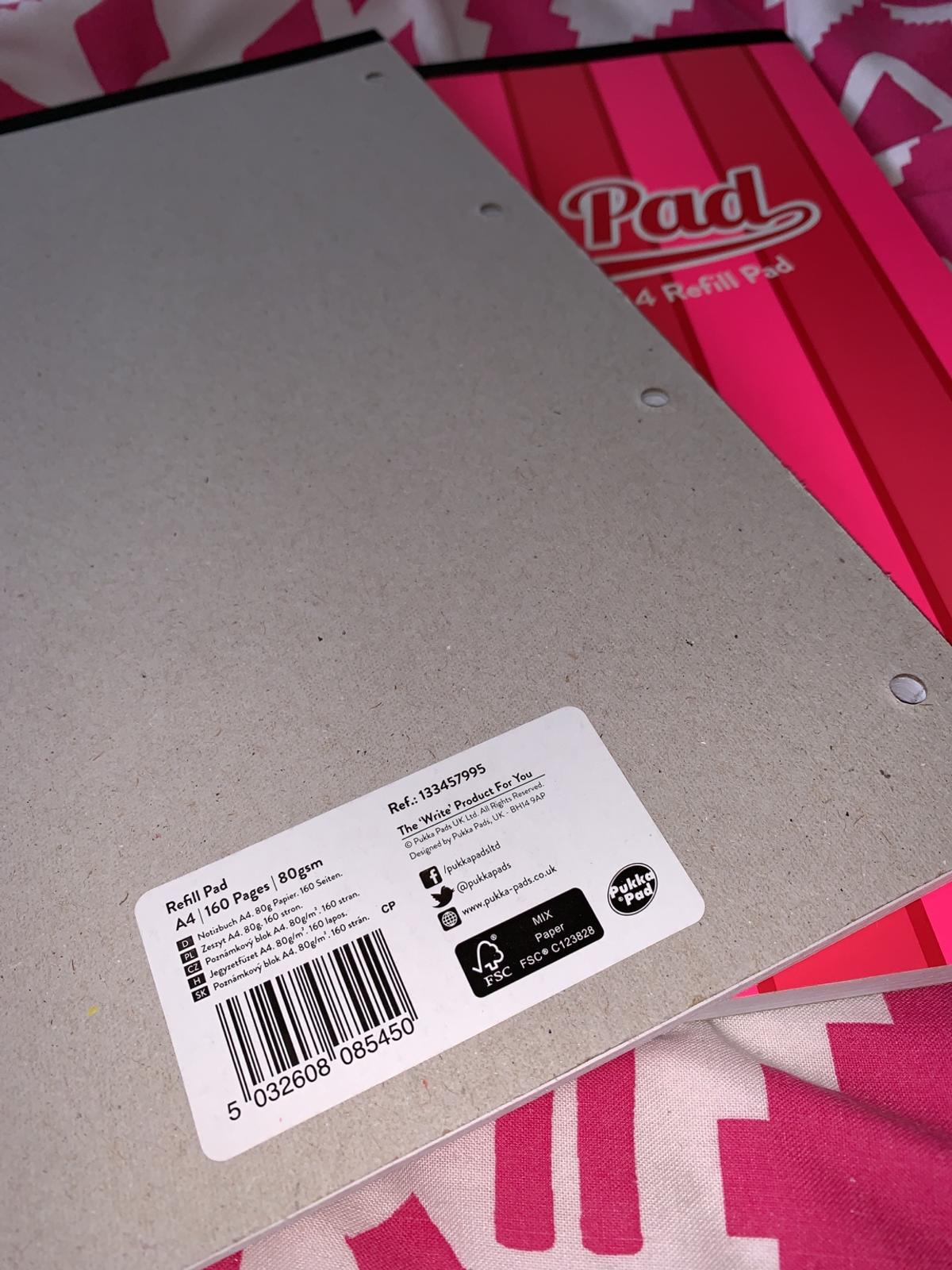 2x Pukka Pad (BRAND NEW) 160 pages