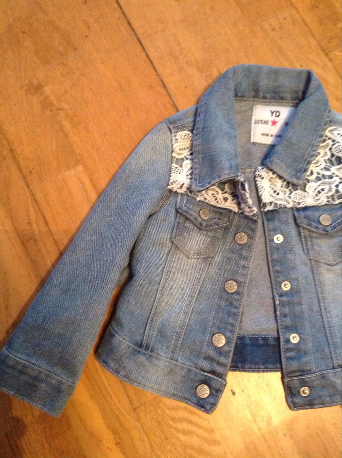 Girls Blue jacket Age 2-3 Years