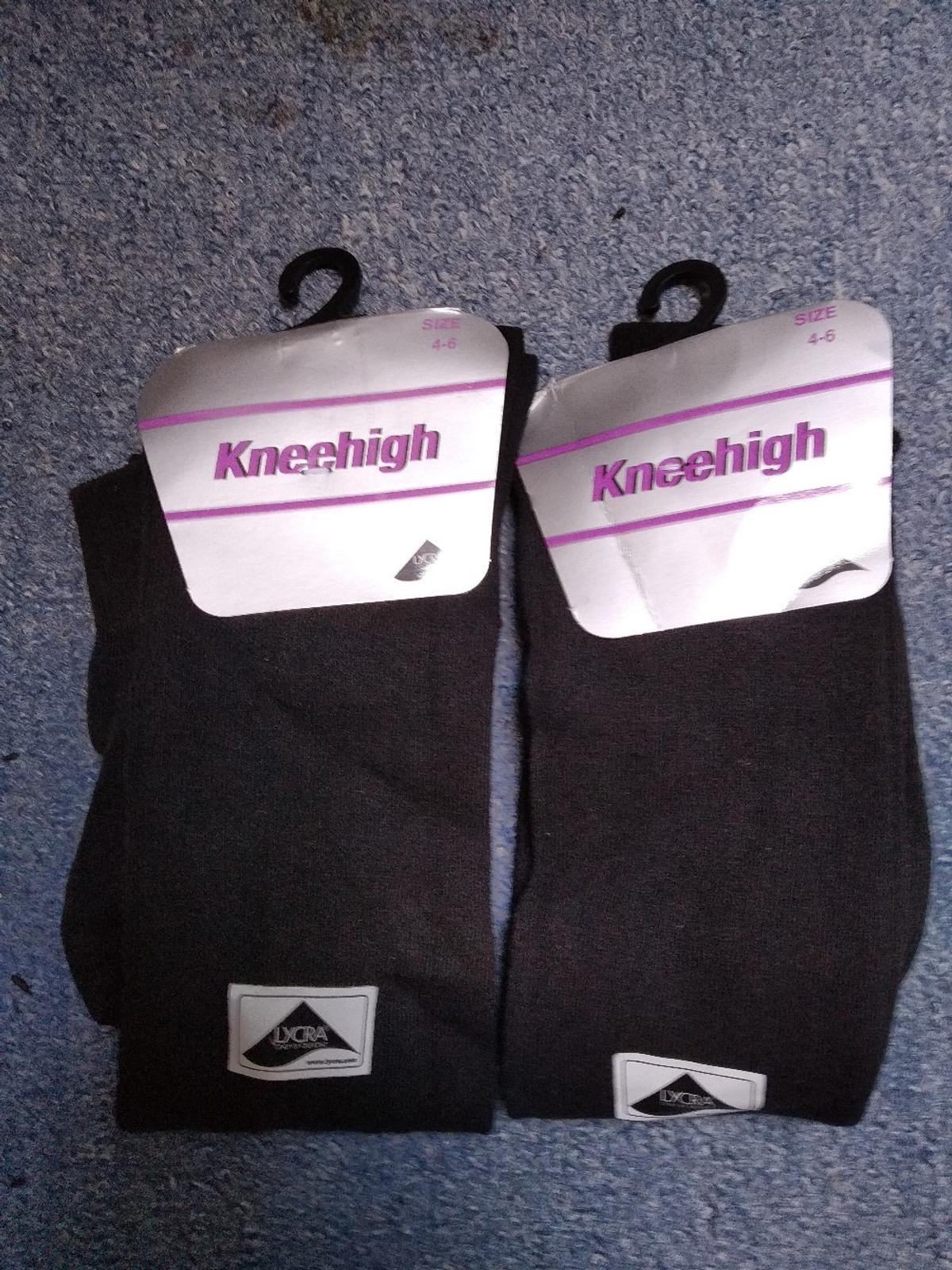 Pairs of women's knee high socks good quality. pay on collection or they can be posted.