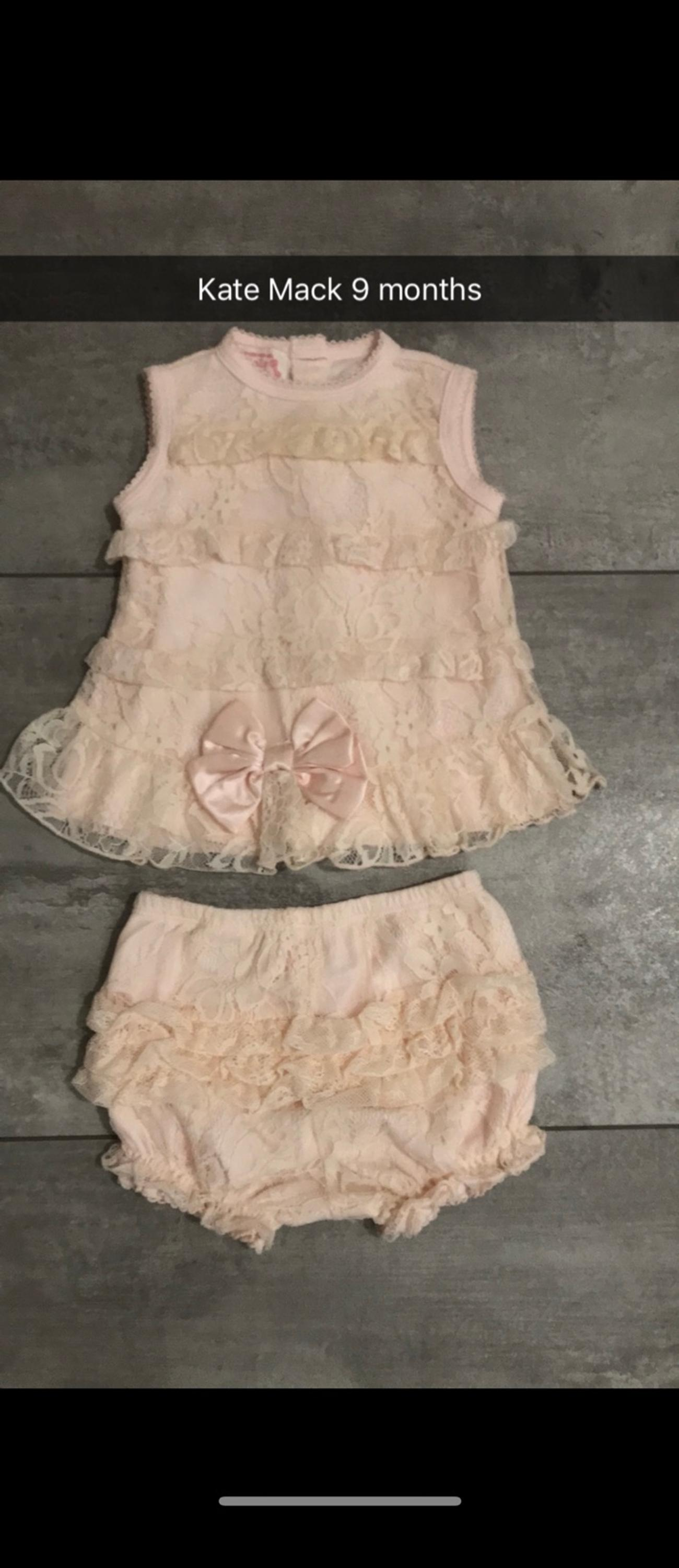 Kate Mack suit age 9 months excellent condition from smoke and pet free home.