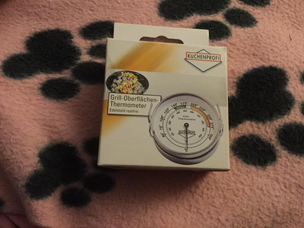 Barbecue/Grill Thermometer by a German Manufacturer Kuchenprofi New in Box. Reduced Now £5 Collection within 48 Hours of Agreeing to Buy or will re-list.