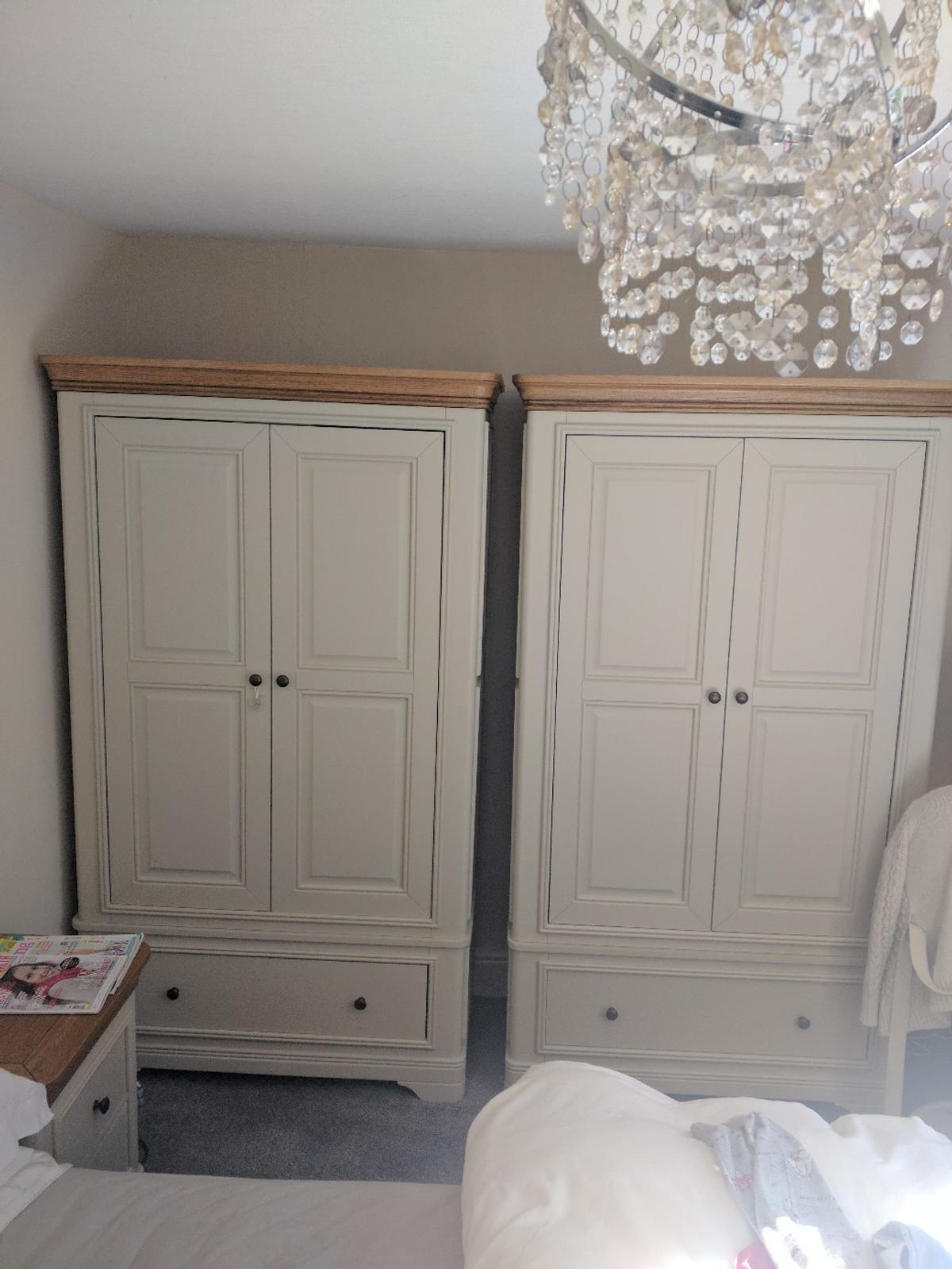 painted french oak bedroom furniture