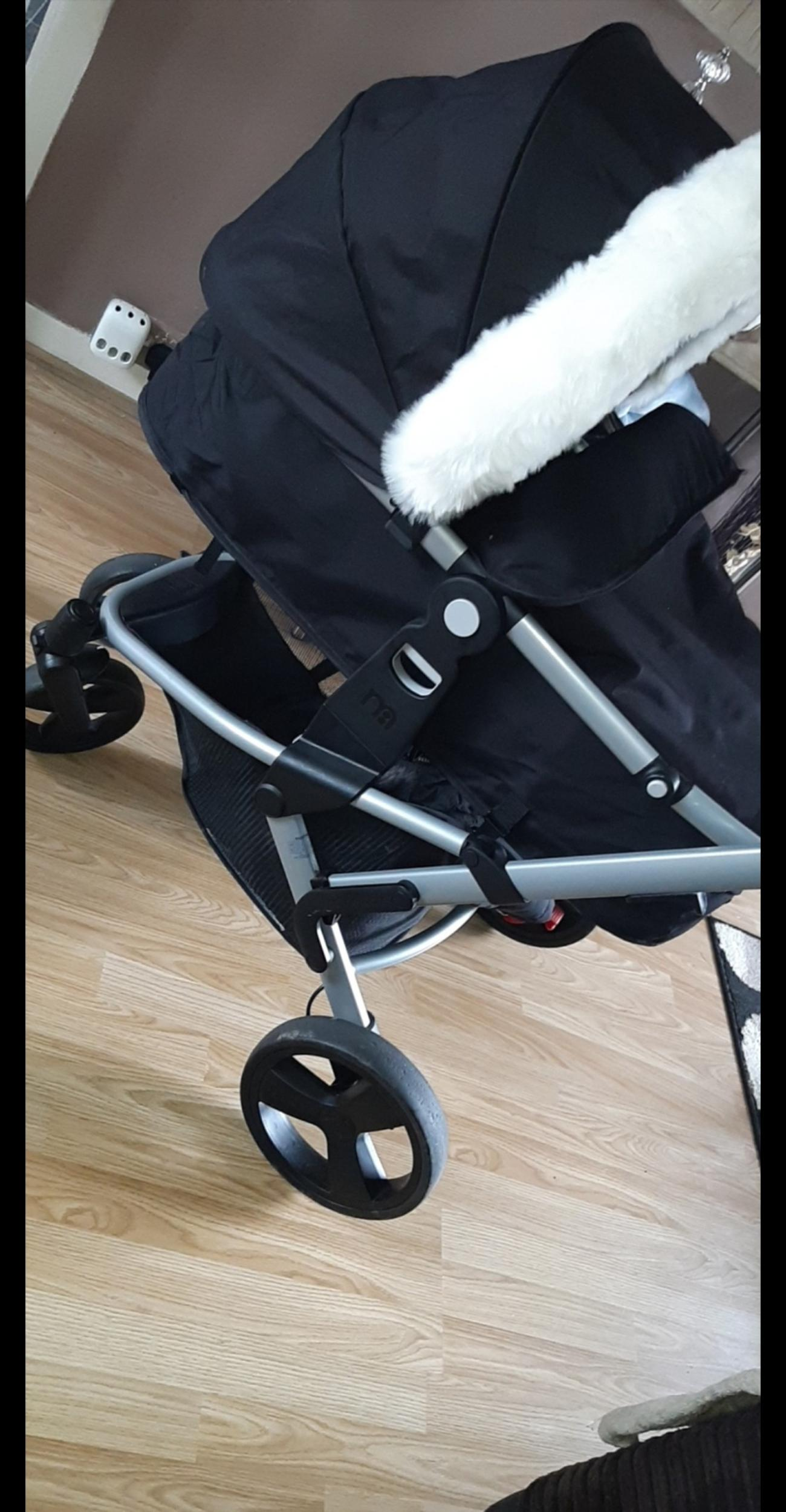 comes with everything provided,nothing at all wrong with it,used for 6 months just my sons going into a stroller now .