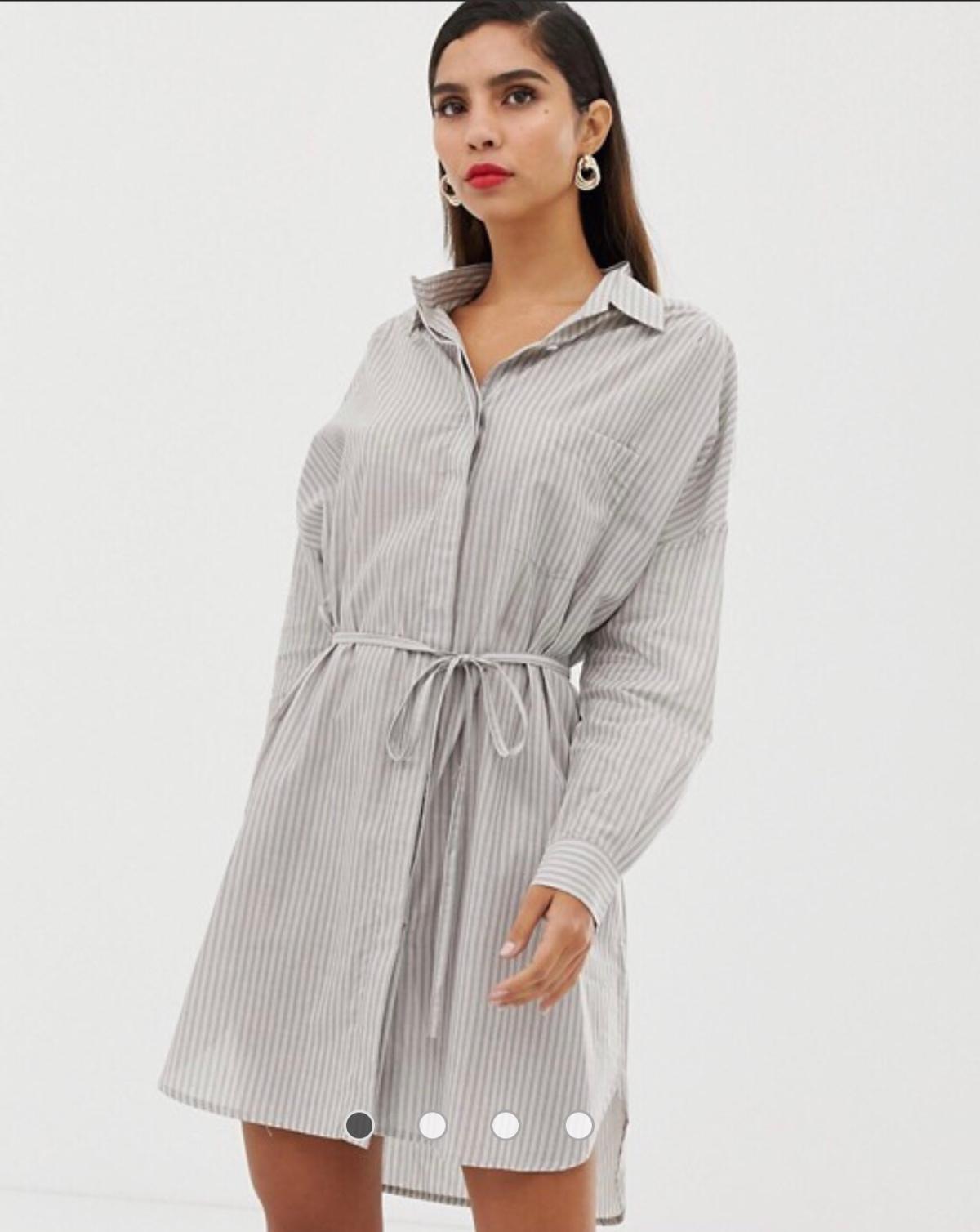 THIS IS A BRAND WITH TAGS ON NEW FRENCH CONNECTION SHIRT DRESS SIZE MEDIUM Currently selling on Asos at £65  Come From A Smoke Free & Pet Free Home Please Check Out My Other Items For Sale!!