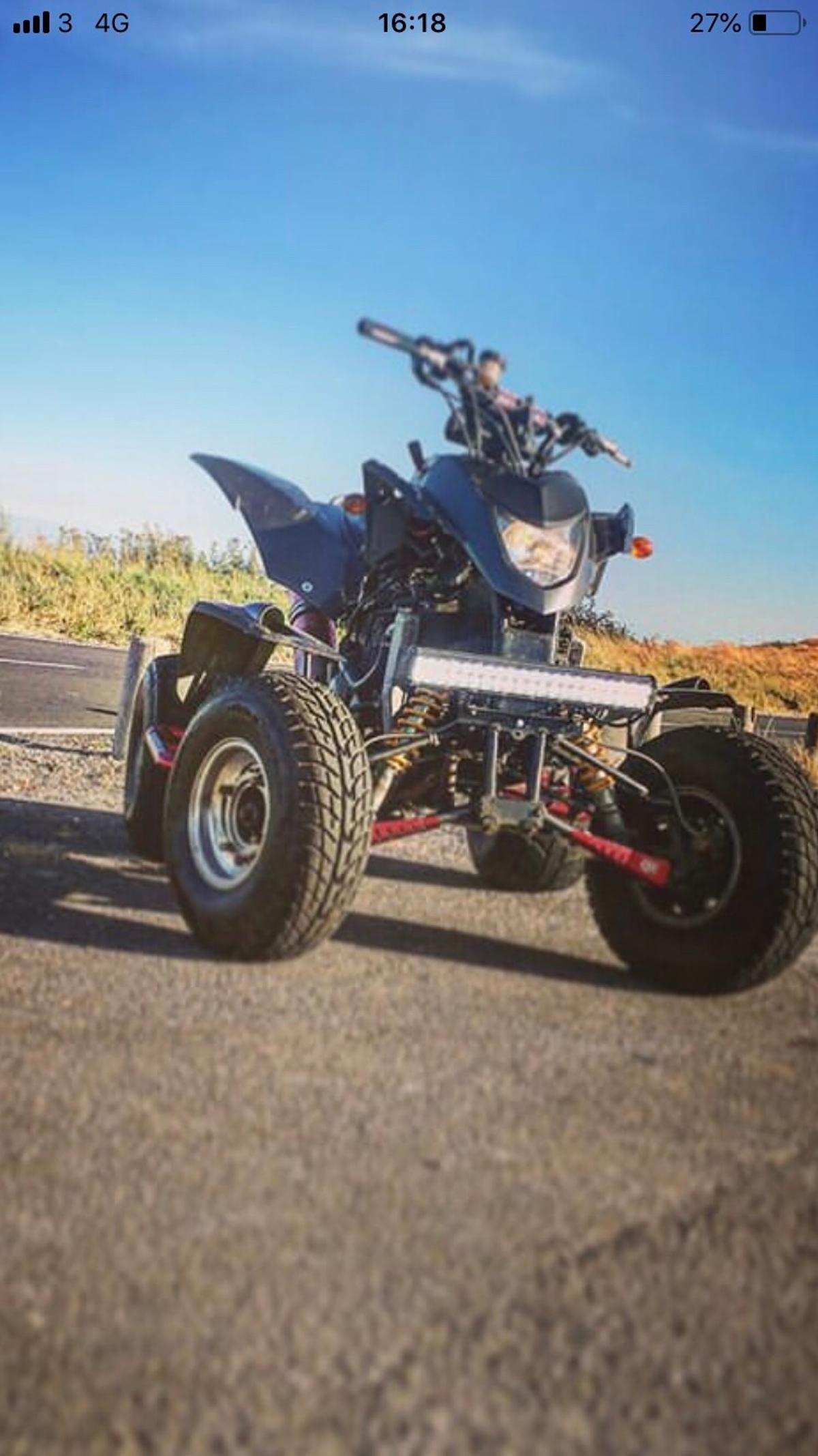 600cc quadzilla regesterd as a 300cc in TN39 Rother for