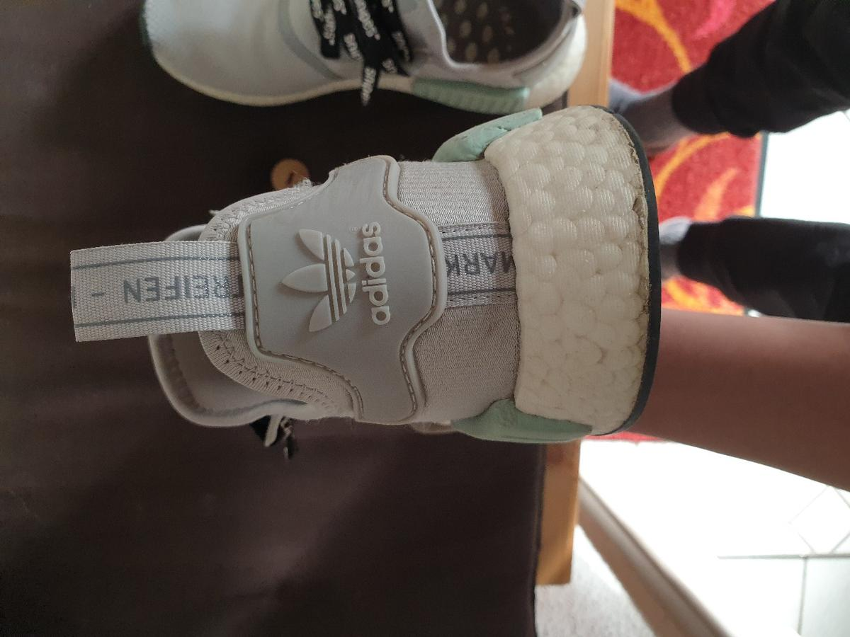 new styles d1f23 641ca Adidas NMD R1 Woman 39 1/3 Grey Two/Ash green in 86854 ...