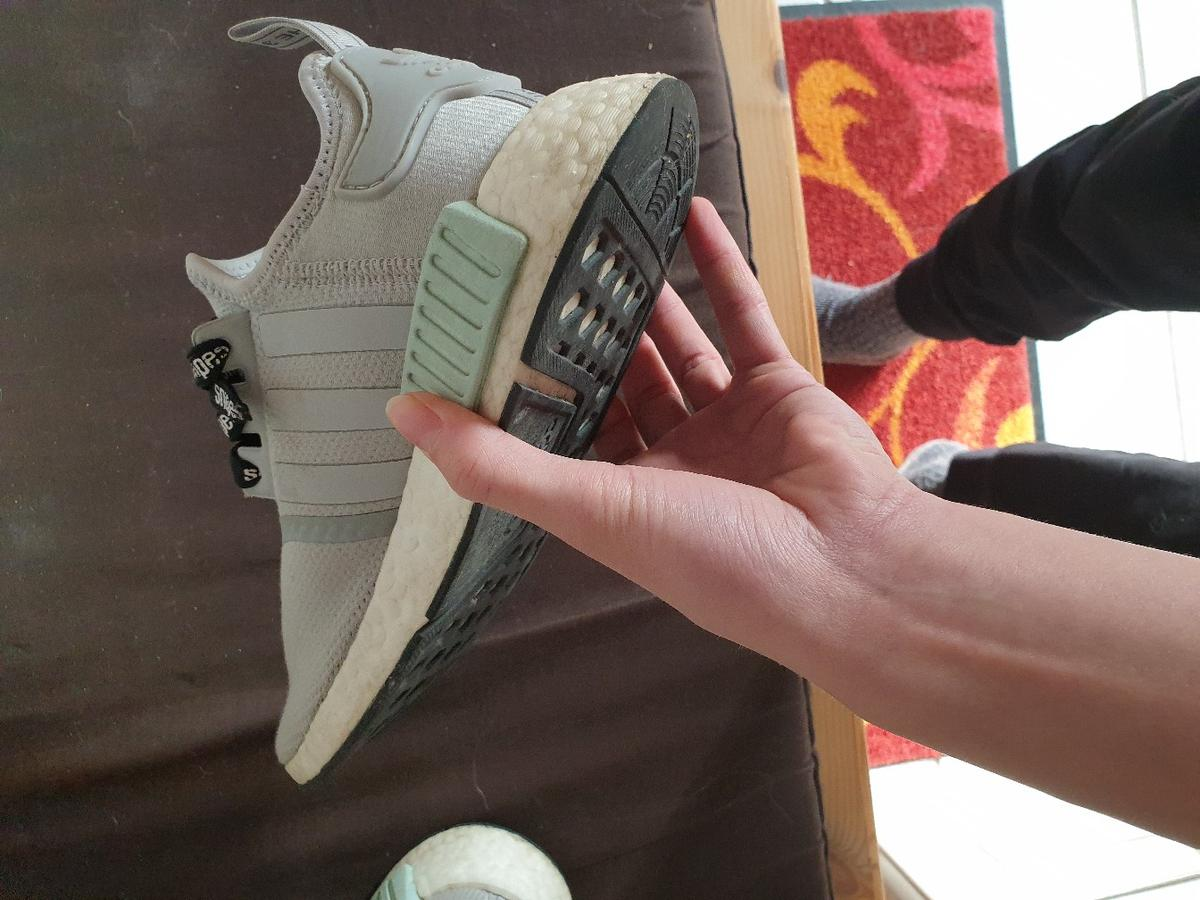 new styles 719e9 541b2 Adidas NMD R1 Woman 39 1/3 Grey Two/Ash green in 86854 ...
