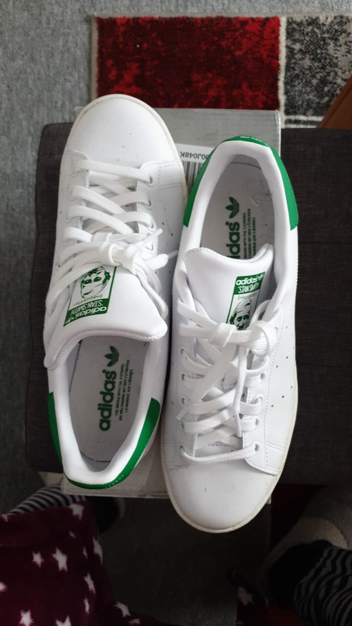 buy online 1e106 4a36c Adidas stan Smith size 8.5