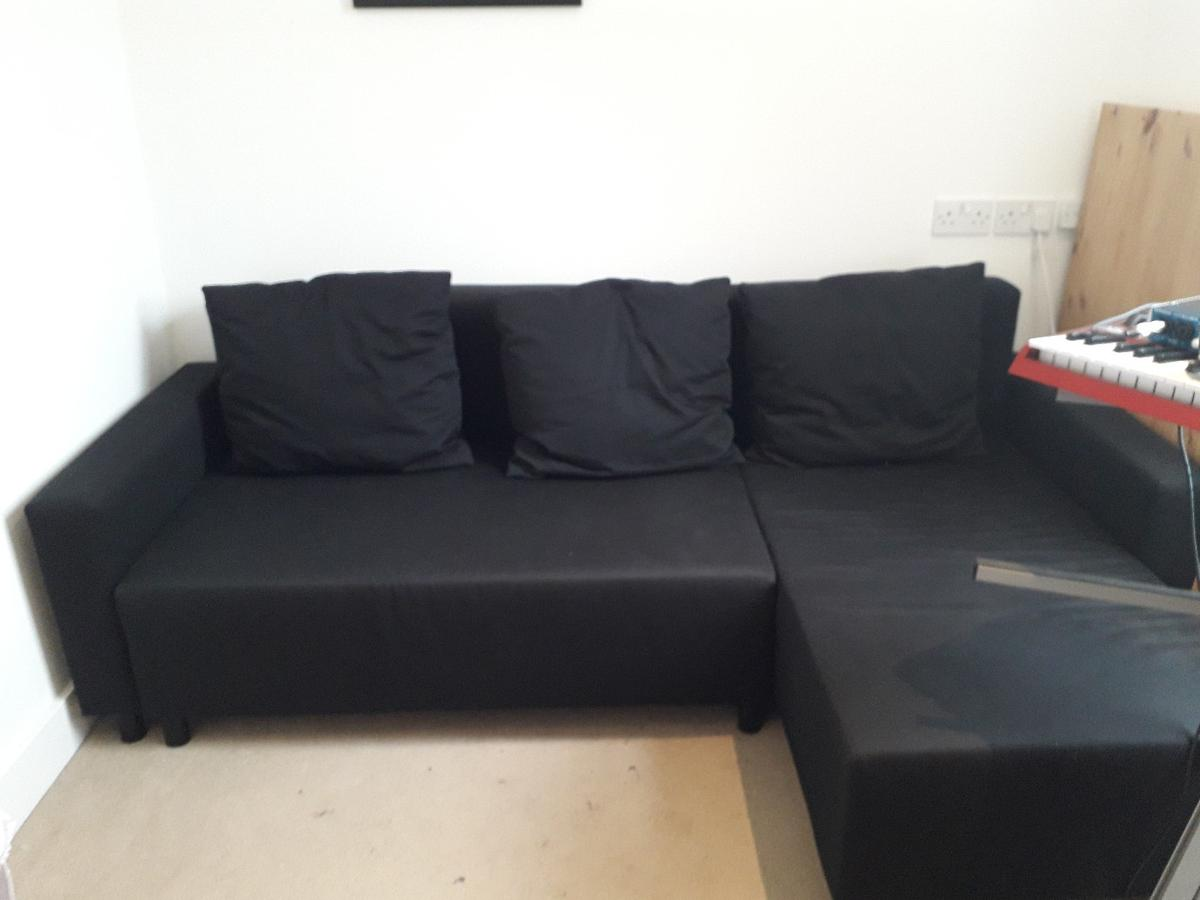 Outstanding Black Corner Sofa Bed With Storage Ikea Onthecornerstone Fun Painted Chair Ideas Images Onthecornerstoneorg