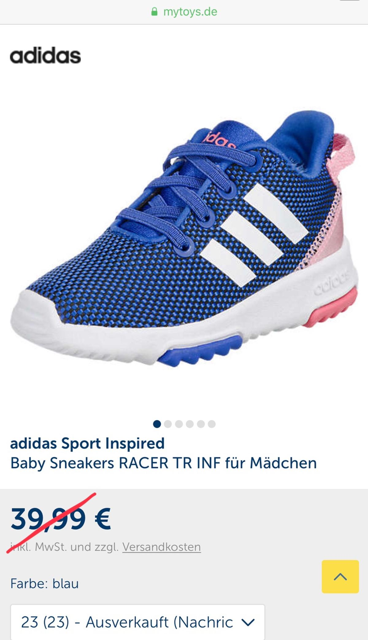 adidas Sport Inspired, Baby Sneakers RACER TR INF für
