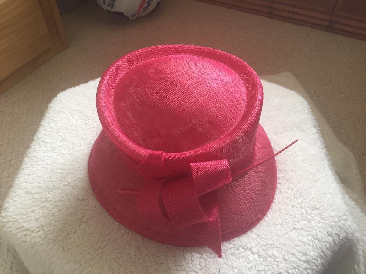 Worn once in excellent condition Fuschia pink Collection from Linton DE12 or Postage via My Hermes courier. Any questions please ask
