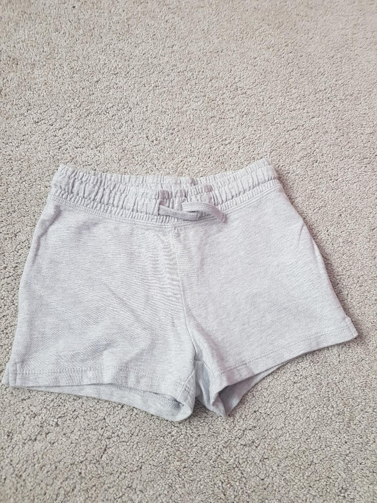 girls grey shorts. from Next. age 6years. sfs