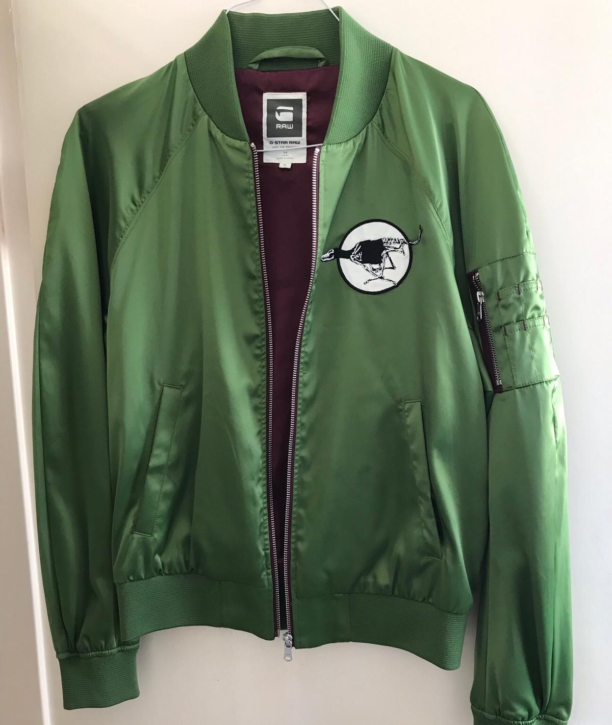 G Star Bomber Jacket Medium Authentic Originally Purchased From West End Flagship Branch for £150