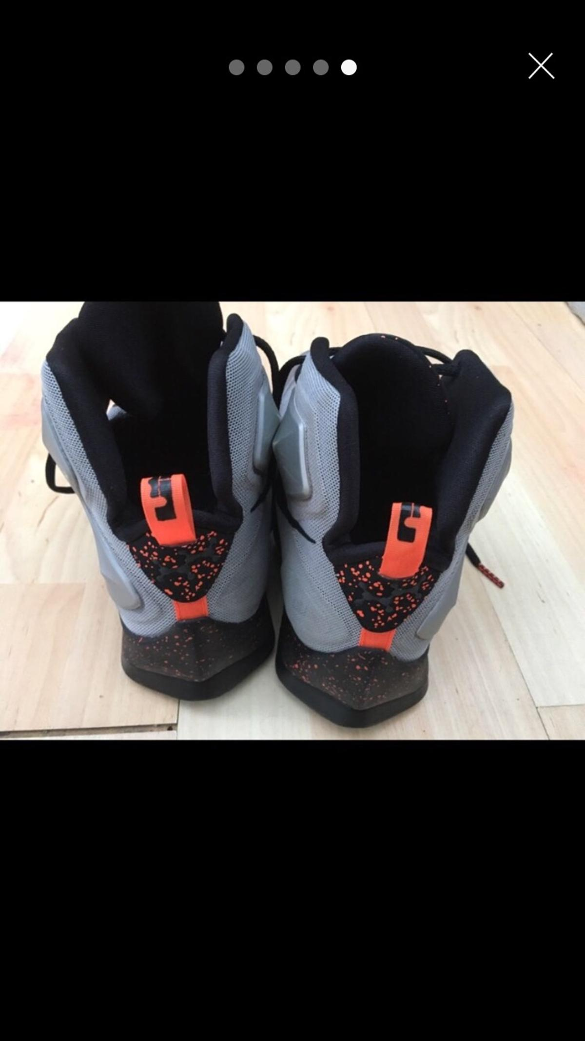 the latest ef985 0913e NIKE Lebron 13 lava UK size 11 men's in DY8 Dudley for ...