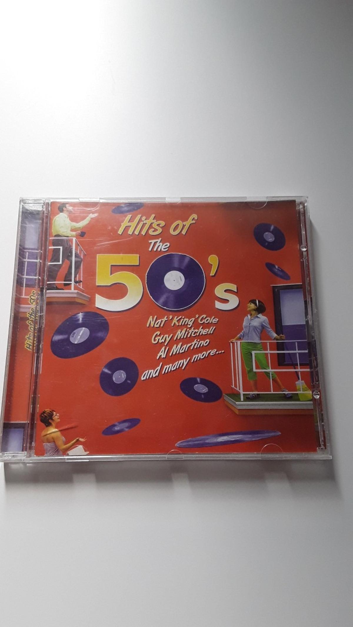 Contains 20 tracks by artists such as Nat King Cole, Guy Mitchell, Al Martino, Brenda Lee & many more.  Some scratches on the disc but still works great.  Available for collection and for post