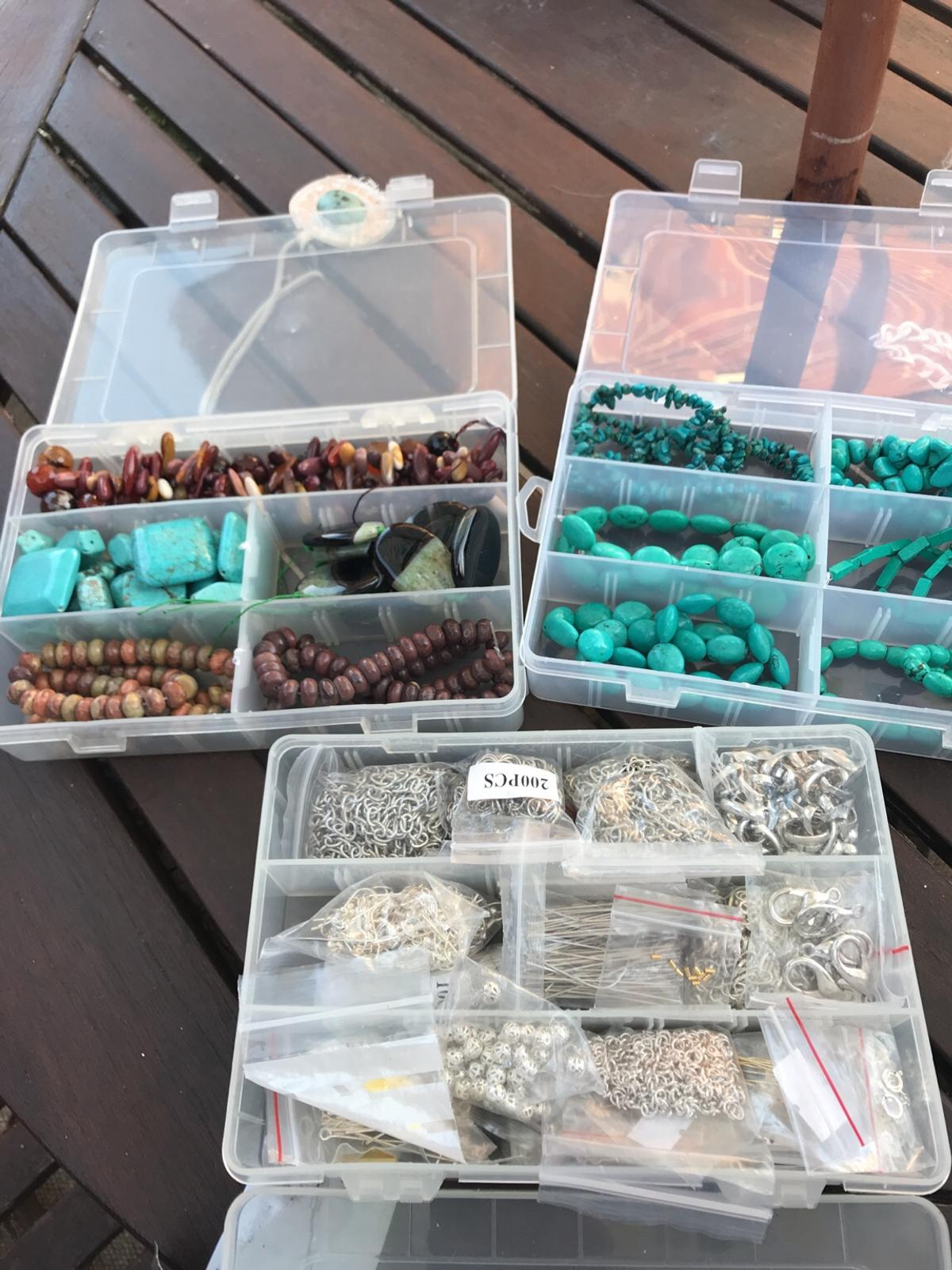 """Real preciousStones also extra""""s can make some beautiful jewellery also with boxes"""