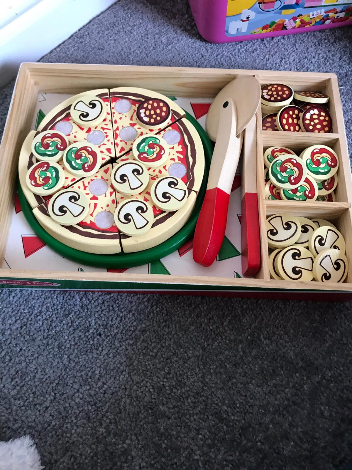 Melissa Doug Wooden Pizza Set In Po3 Portsmouth Fur 6 00