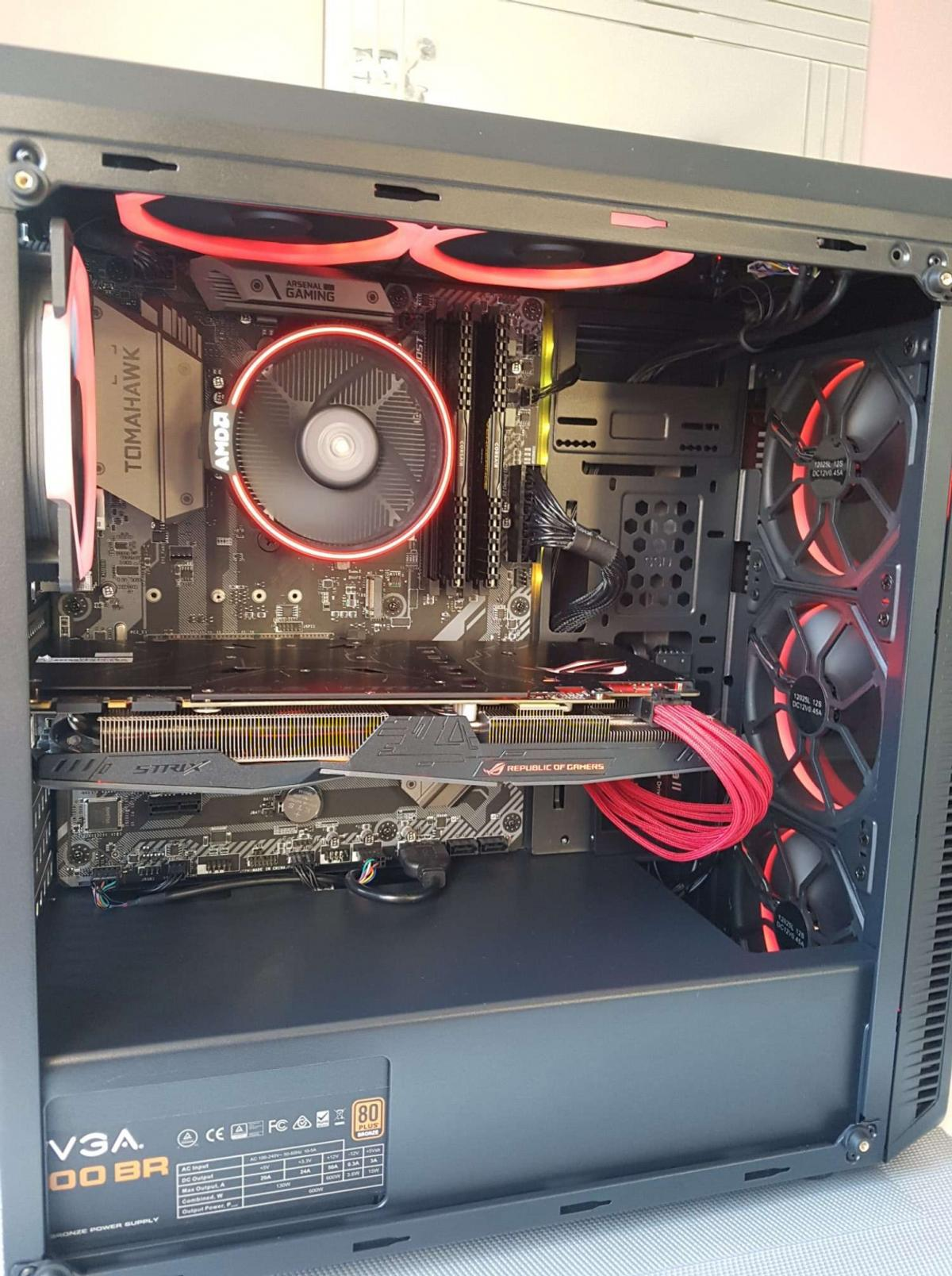 Gaming PC Ryzen 7 2700 + GTX 1070 in PR7 Ribble for £660 00