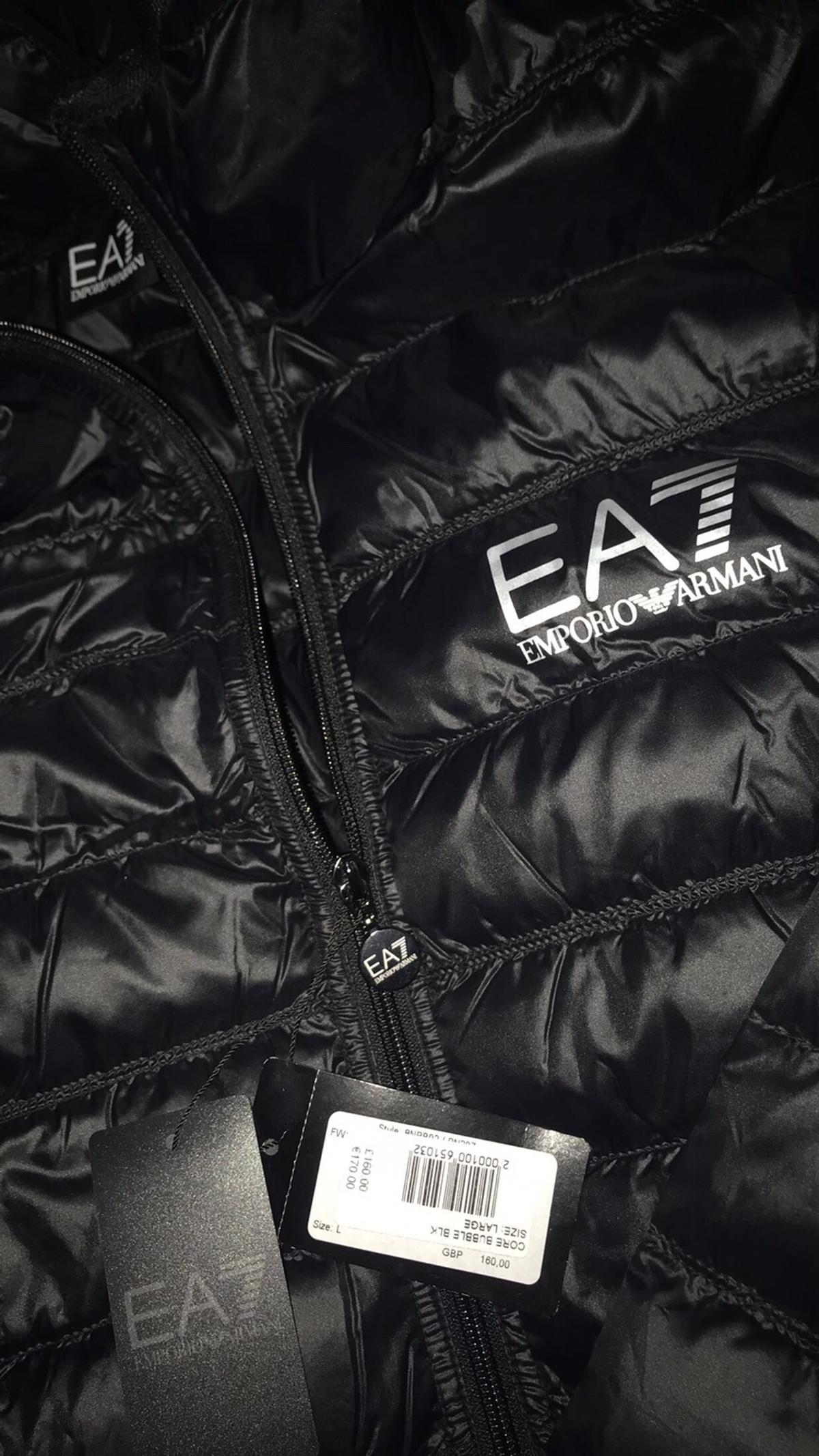 soft and light new list thoughts on EA7 Emporio Armani-Bubble Puffer Jacket Large