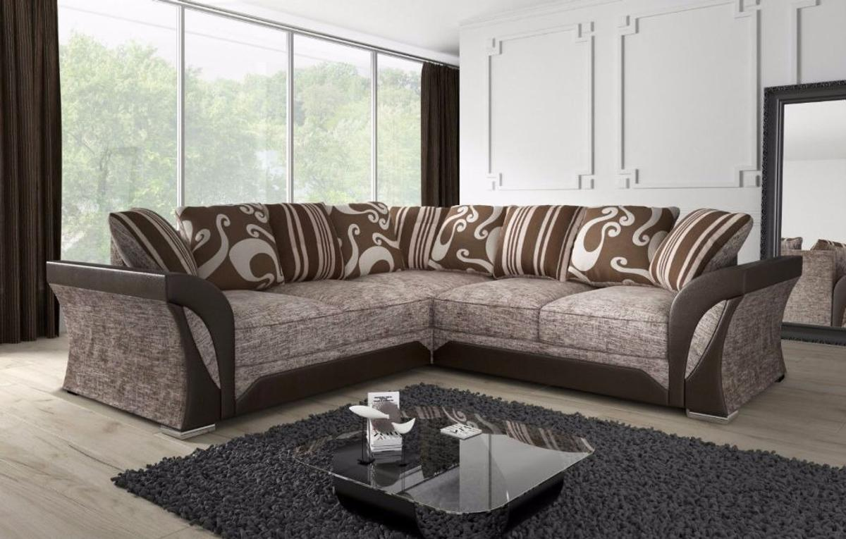 📞 Call Us Now 02033711141📞  Specifications: Brand new Good style Combination Universal left right Sofa Material: Fabric, Faux leather and Solid Wood Fabric Type: Premium Chenille Fabric Seat Type: Foam and Spring Cushion Filling: High-quality fibre Arm Style: Curved  -Dimensions:  - 2-seat:  - Width: 170 cm Height: 90 cm Depth: 90 cm.  - 3-seat:  - Width: 195cm Height: 90 cm Depth: 90 cm.  COLOURS; Black/grey, brown/biege.  - CORNER DIMENSIONS:  - Depth: 75cm  - Height: 80cm  - Width: 235cm x 235cm  📞 Call Us Now 02033711141📞