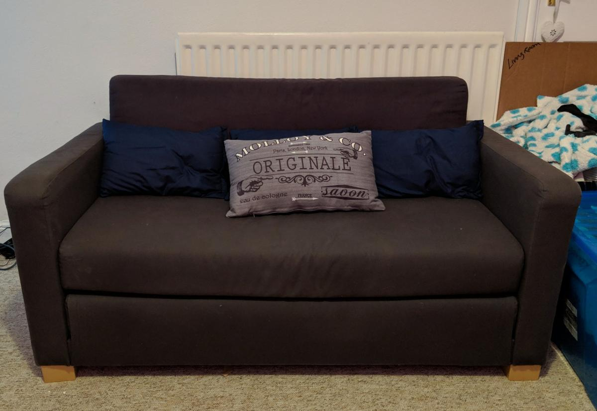Enjoyable Ikea Solsta Sofa Bed Squirreltailoven Fun Painted Chair Ideas Images Squirreltailovenorg