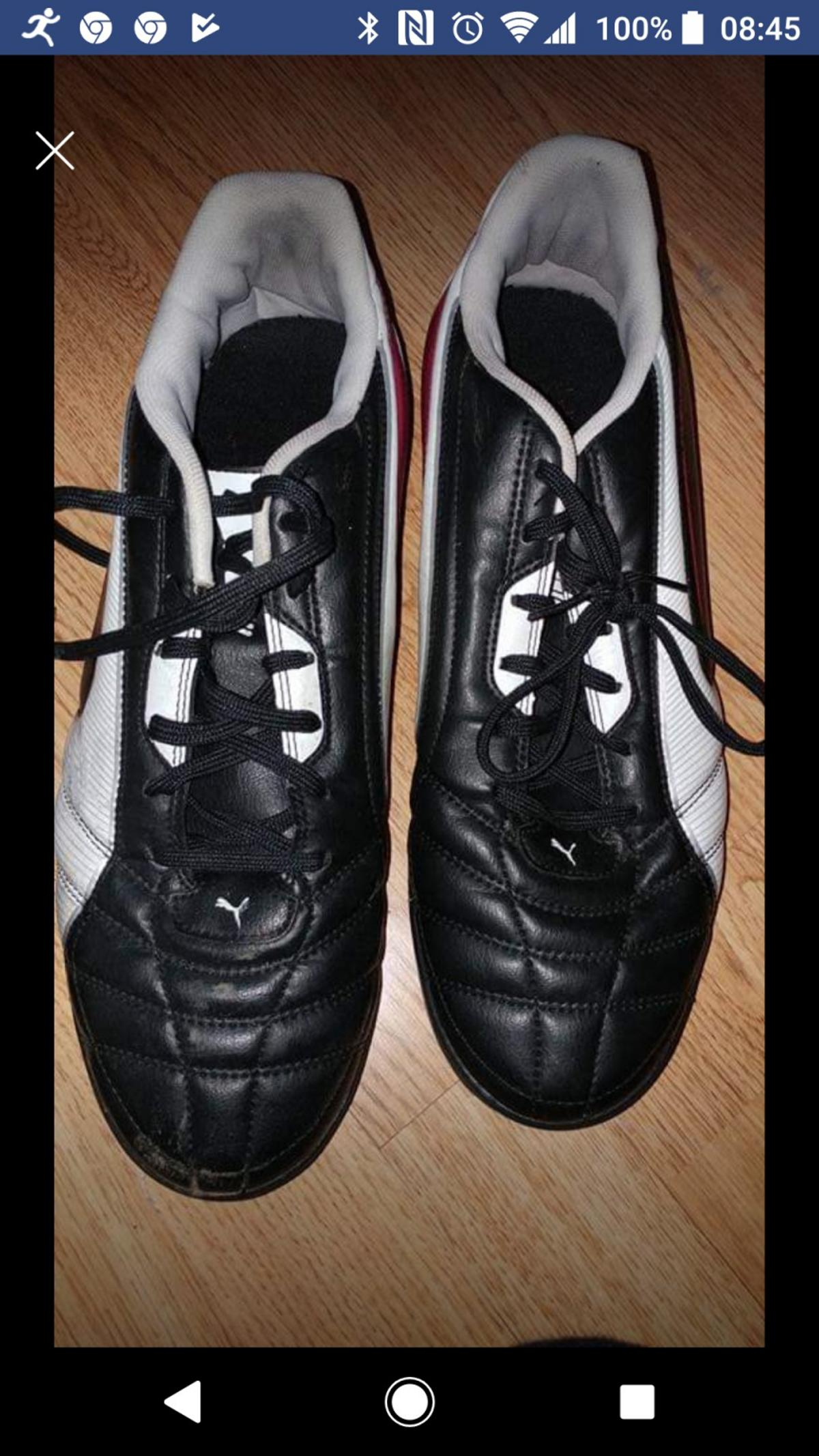 Great condition football trainers size10 Can post for £3 Royal mail PayPal or bank transfer accepted