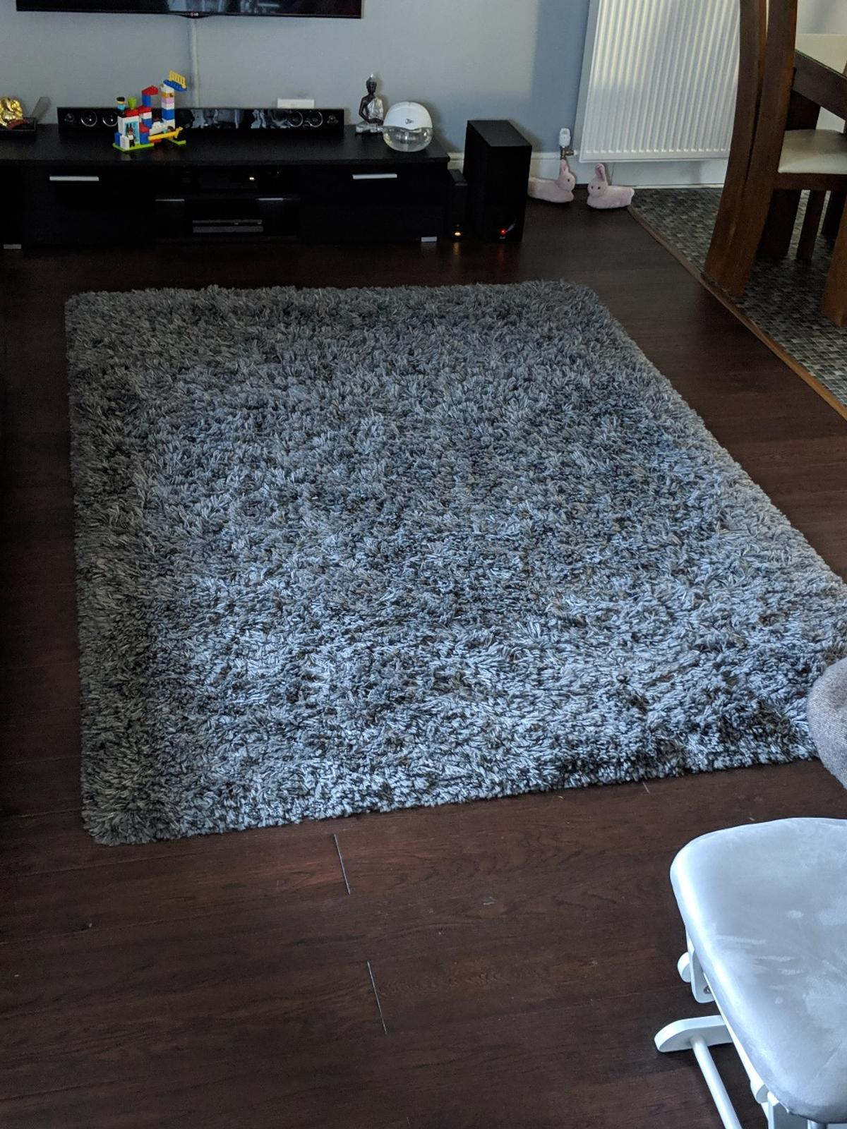 Ikea Gaser Grey Shaggy High Pile Rug Large In Ub5 Ealing Fur 80 00 Zum Verkauf Shpock At