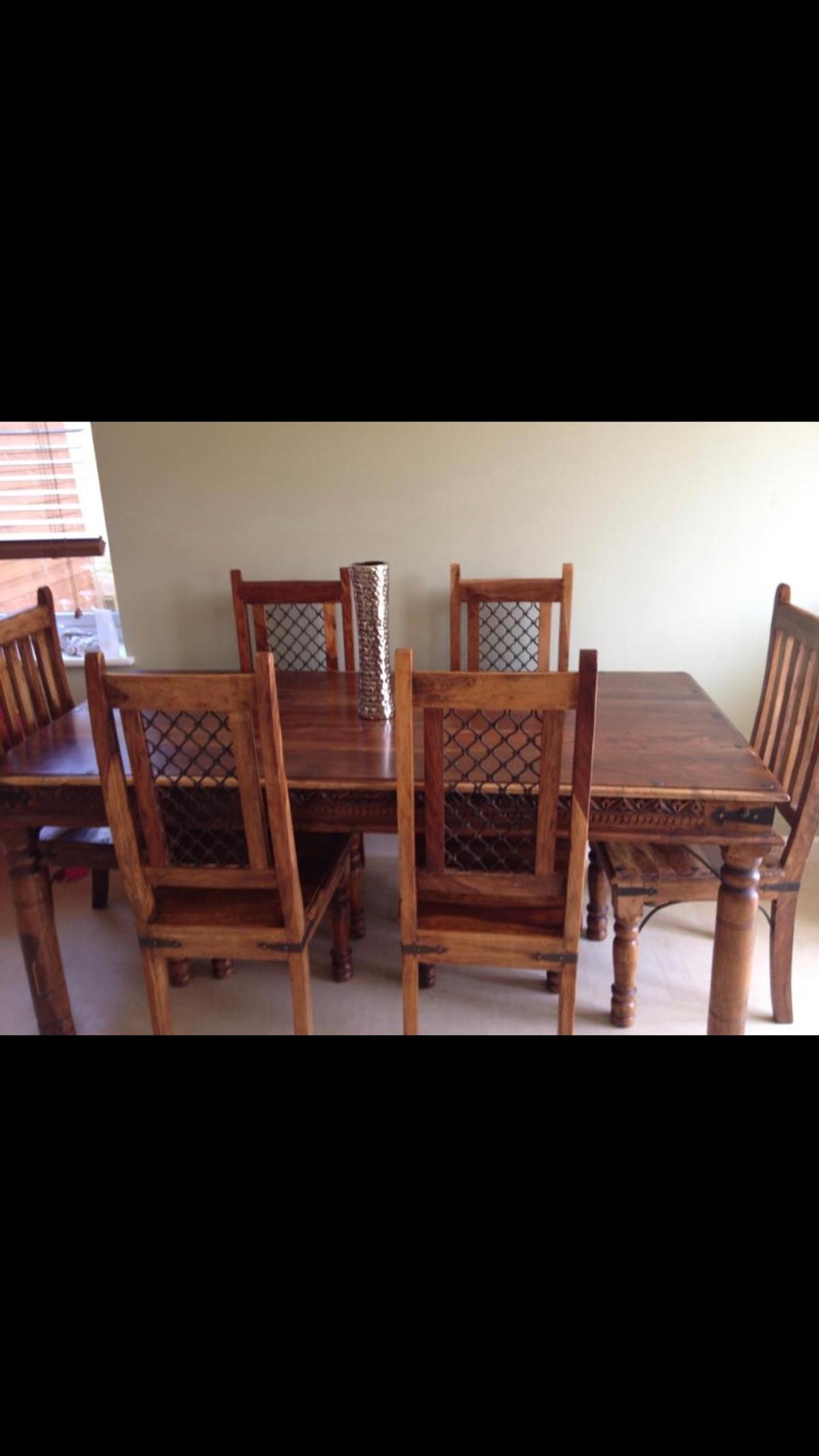 6 Chair Dining Table In India
