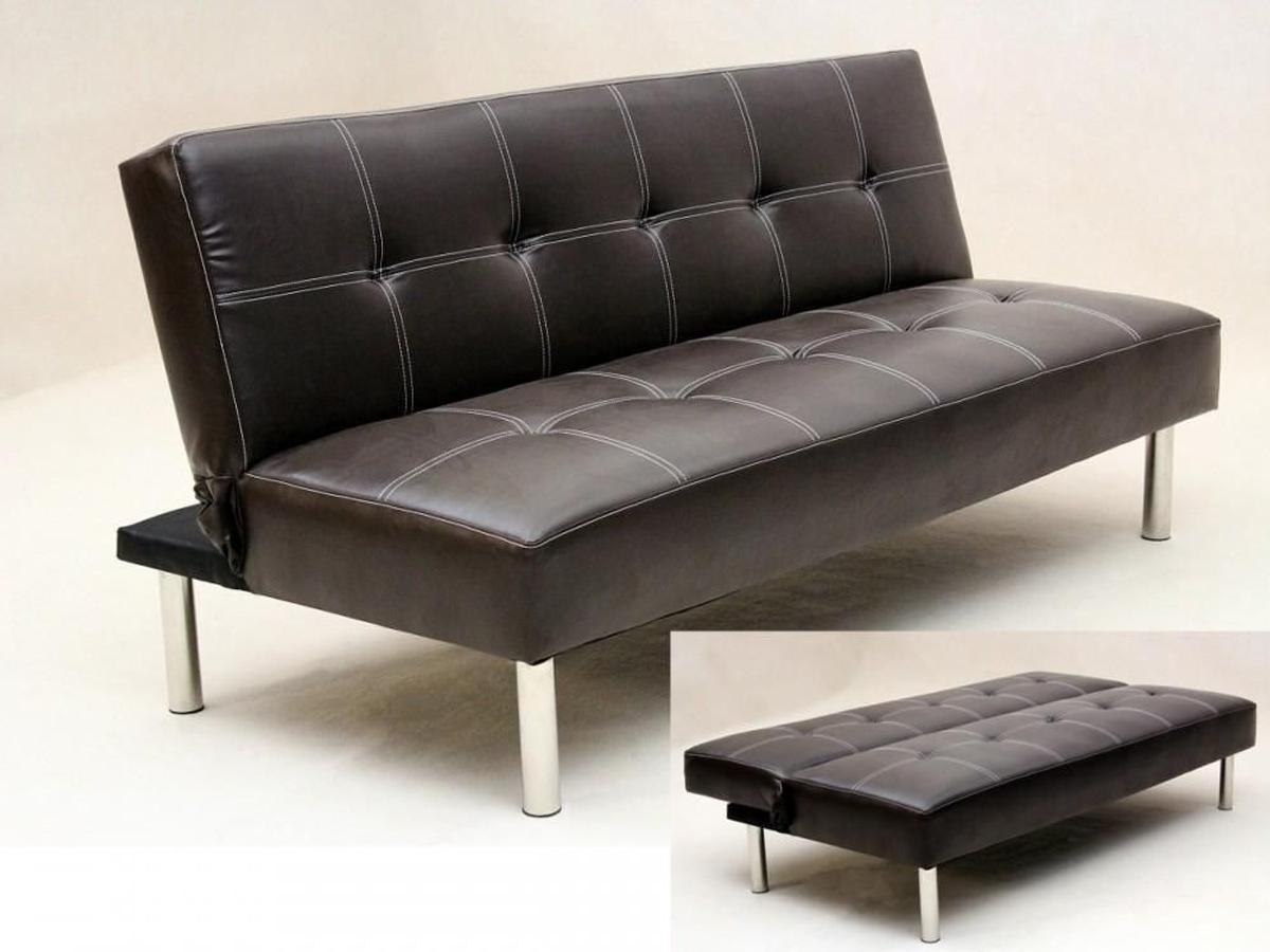 - CLICK CLACK PU LEATHER SOFA BED In E1 0AE London For £119.00 For