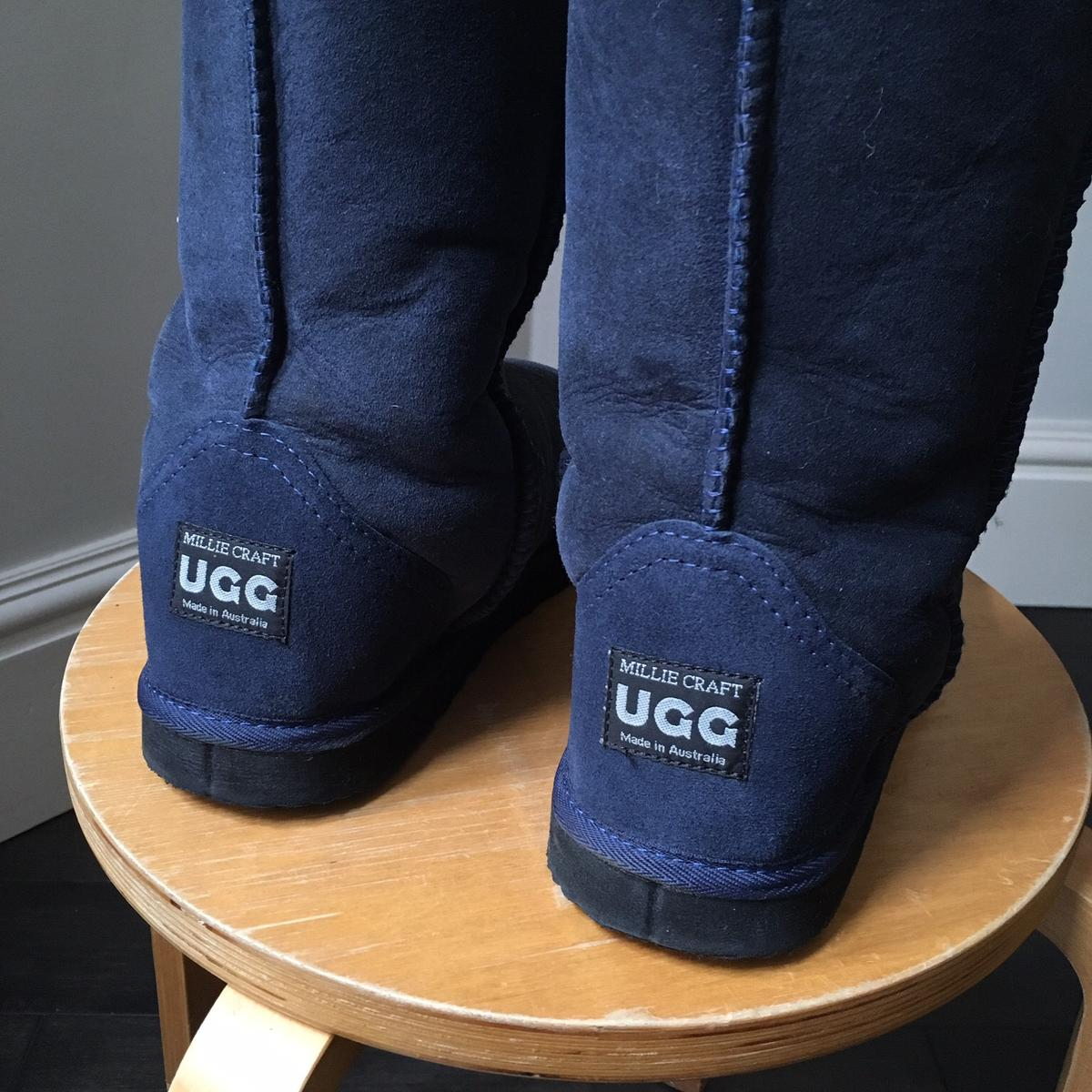 5aaedfb2ea7 Navy UGG boots in SW1H London for £50.00 for sale - Shpock