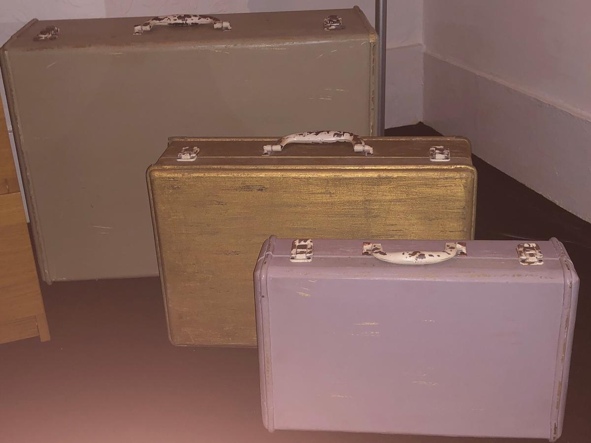 Rustic Decorative Storage Suitcase In SW11 Wandsworth For ...
