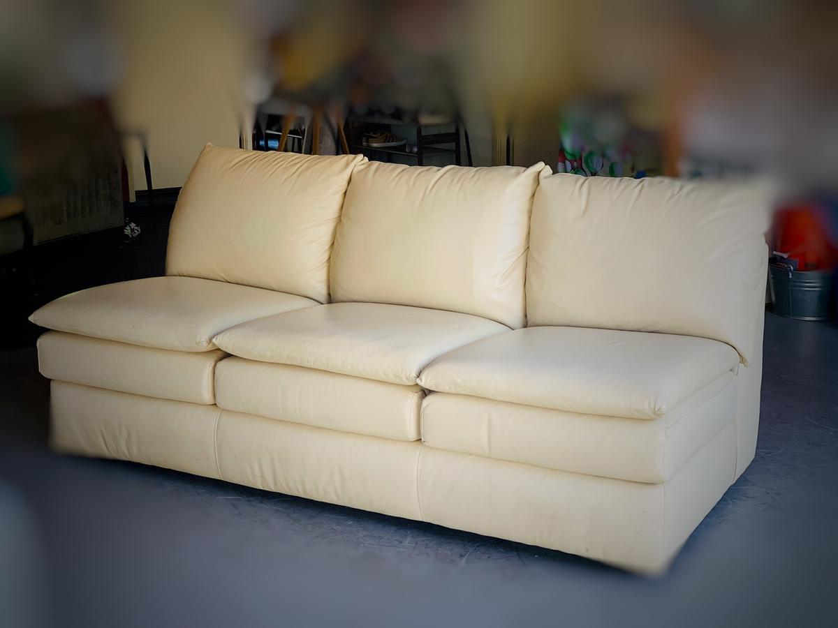 Superb Leather Sofa In For Us 110 00 For Sale Shpock Camellatalisay Diy Chair Ideas Camellatalisaycom