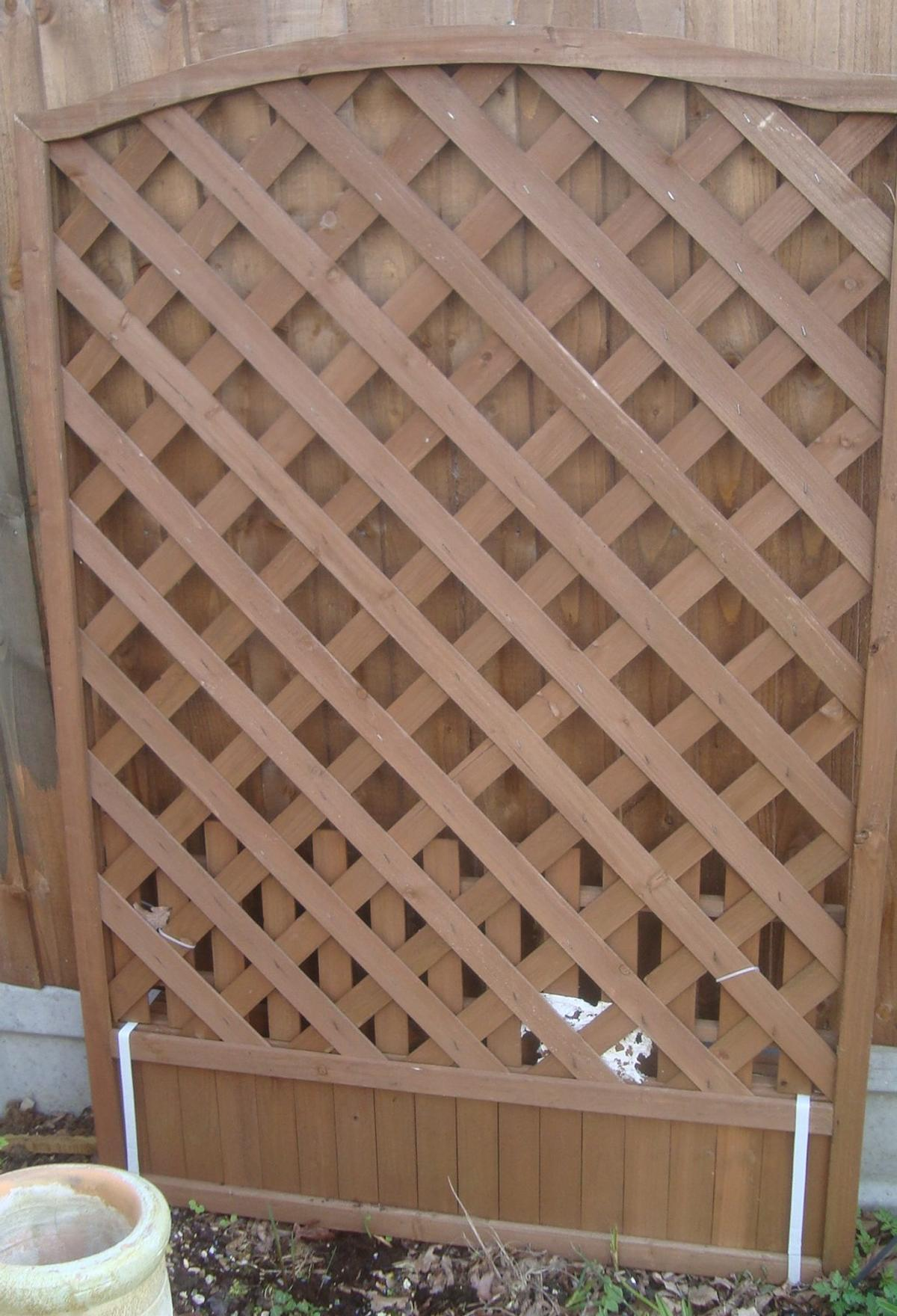 New Large Garden Lattice Wooden Planter