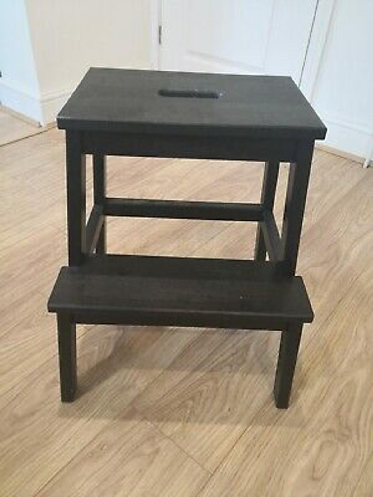 Miraculous Ikea Bekvam Step Stool Black Ibusinesslaw Wood Chair Design Ideas Ibusinesslaworg