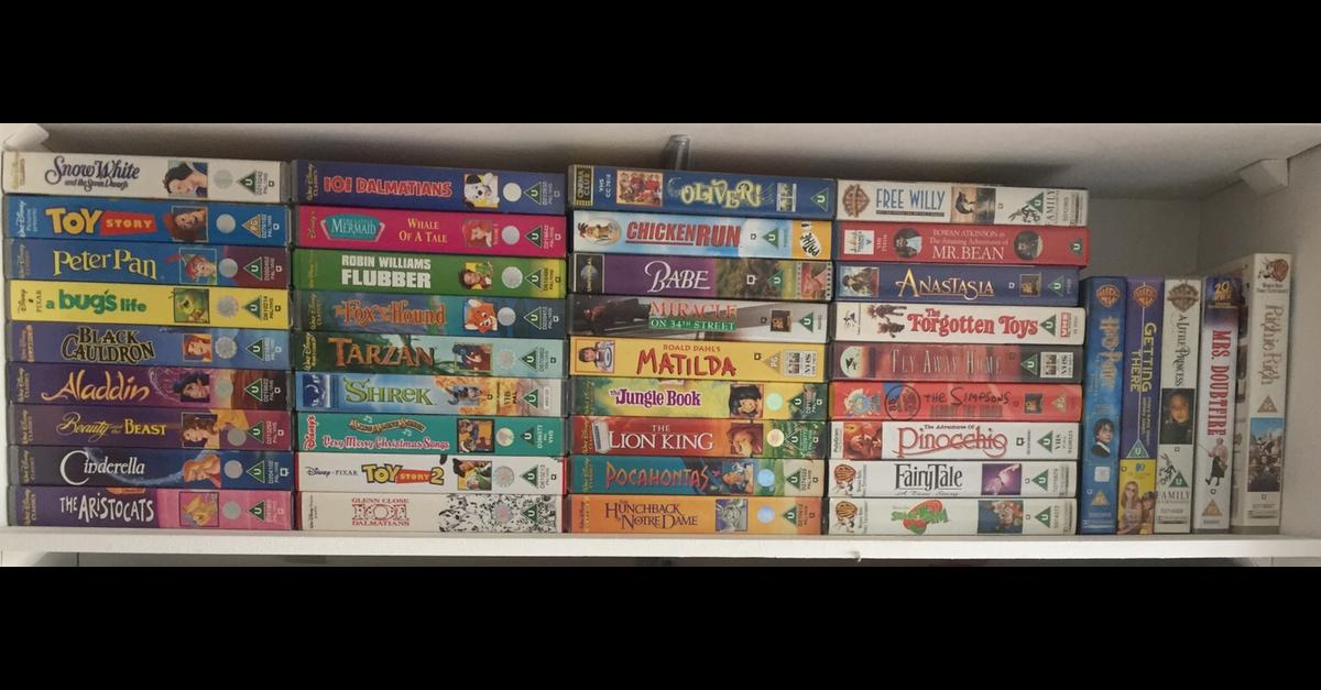 Vhs Videos In B92 Solihull For 20 00 For Sale Shpock