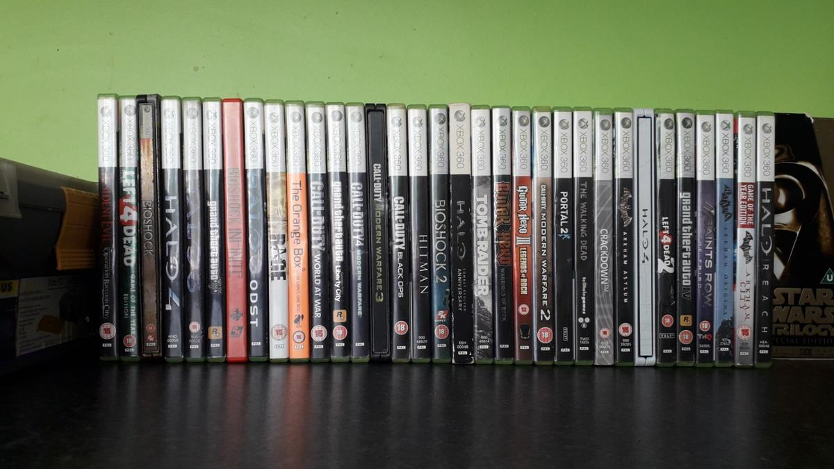 xbox 360 games bundle in DE5 Valley for free for sale - Shpock