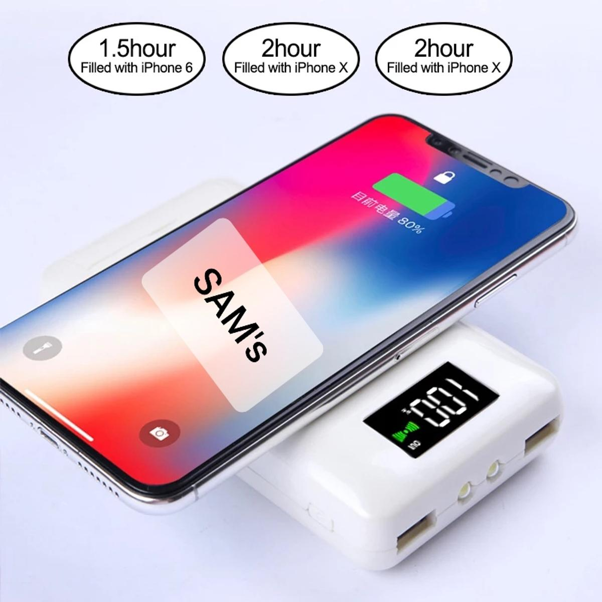 5 in 1 QI Wireless Charger with BT Airpods. in 128 45