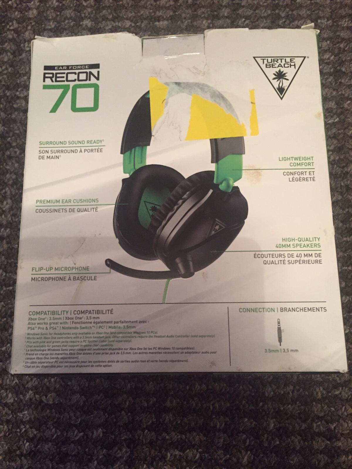New Xbox one turtle beach recon 70 headset in WV4