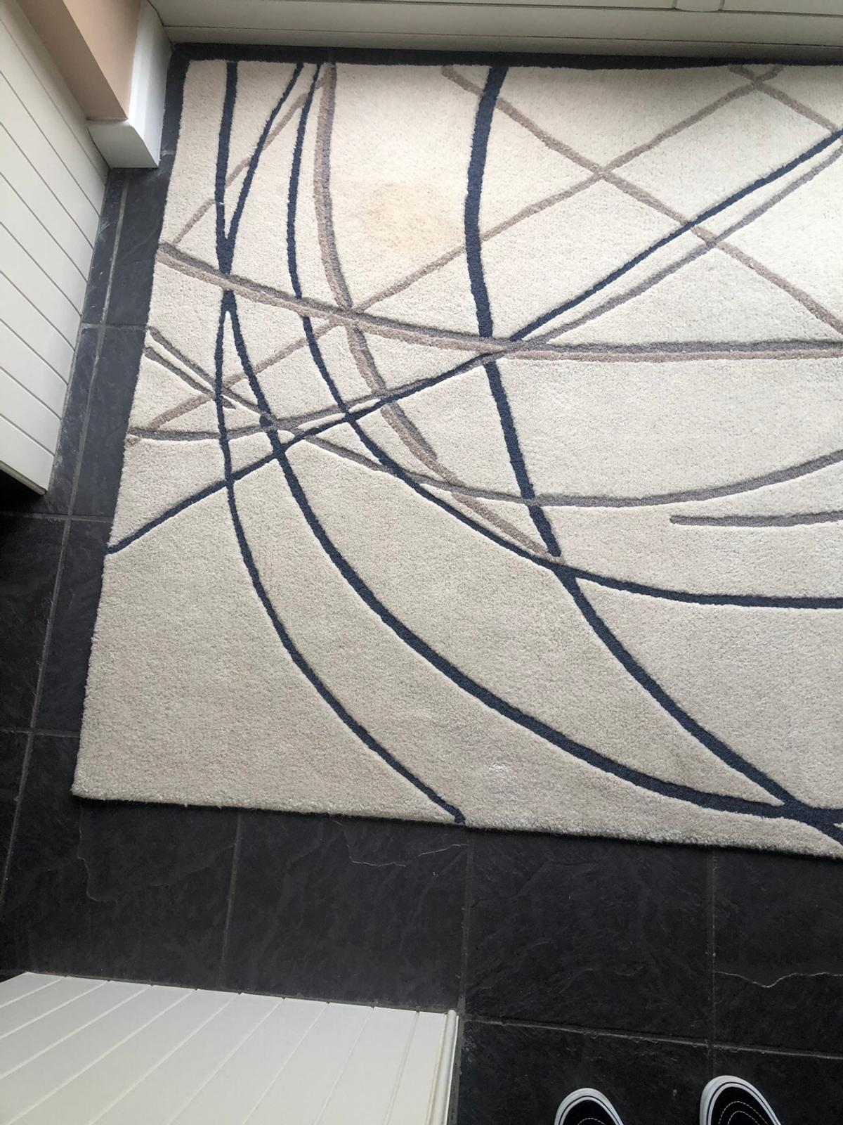 Large Cream Pattern Next Rug In Doncaster For 25 00