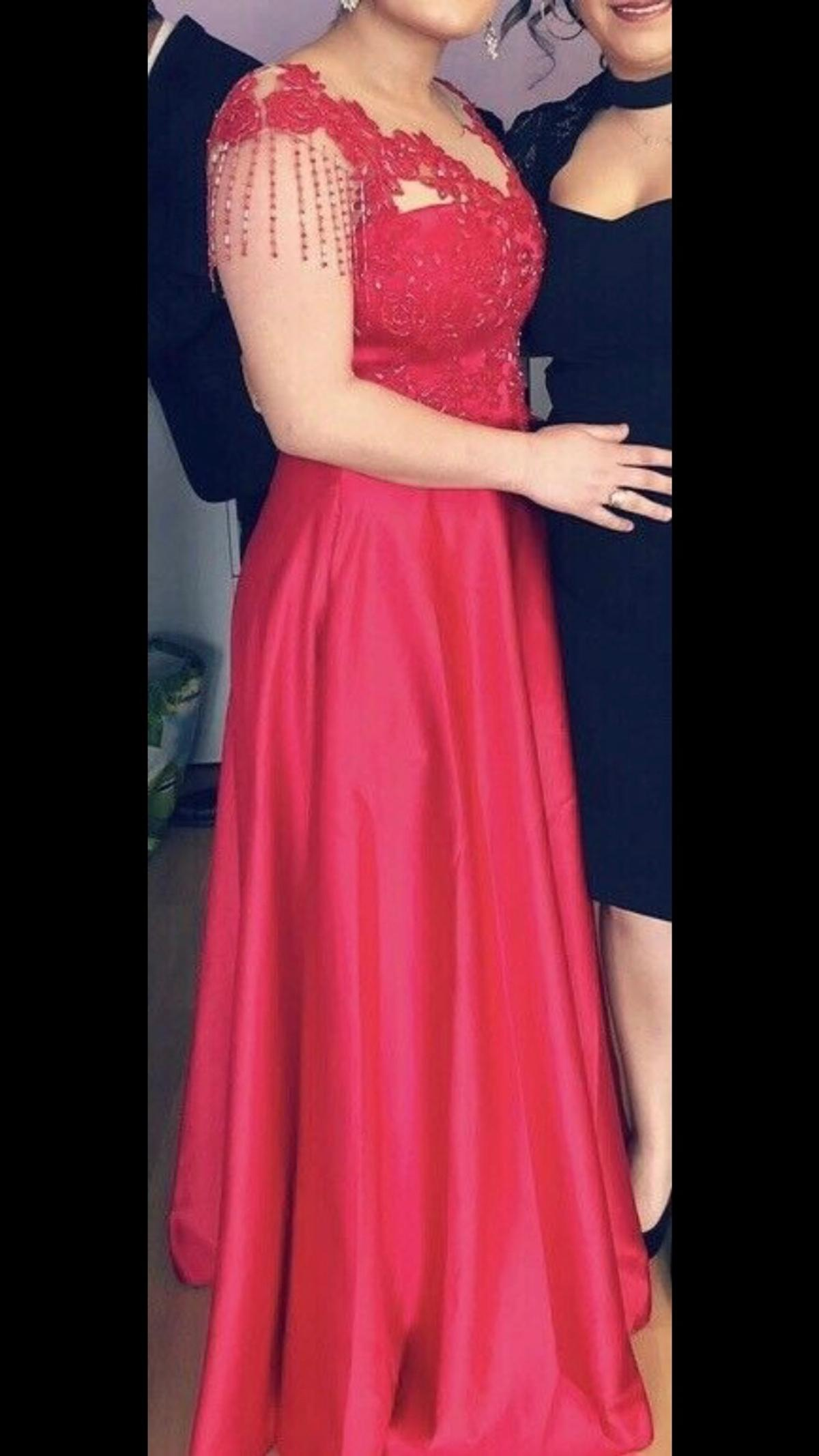 Rotes Abendkleid ️ in 63477 Maintal for €100.00 for sale ...